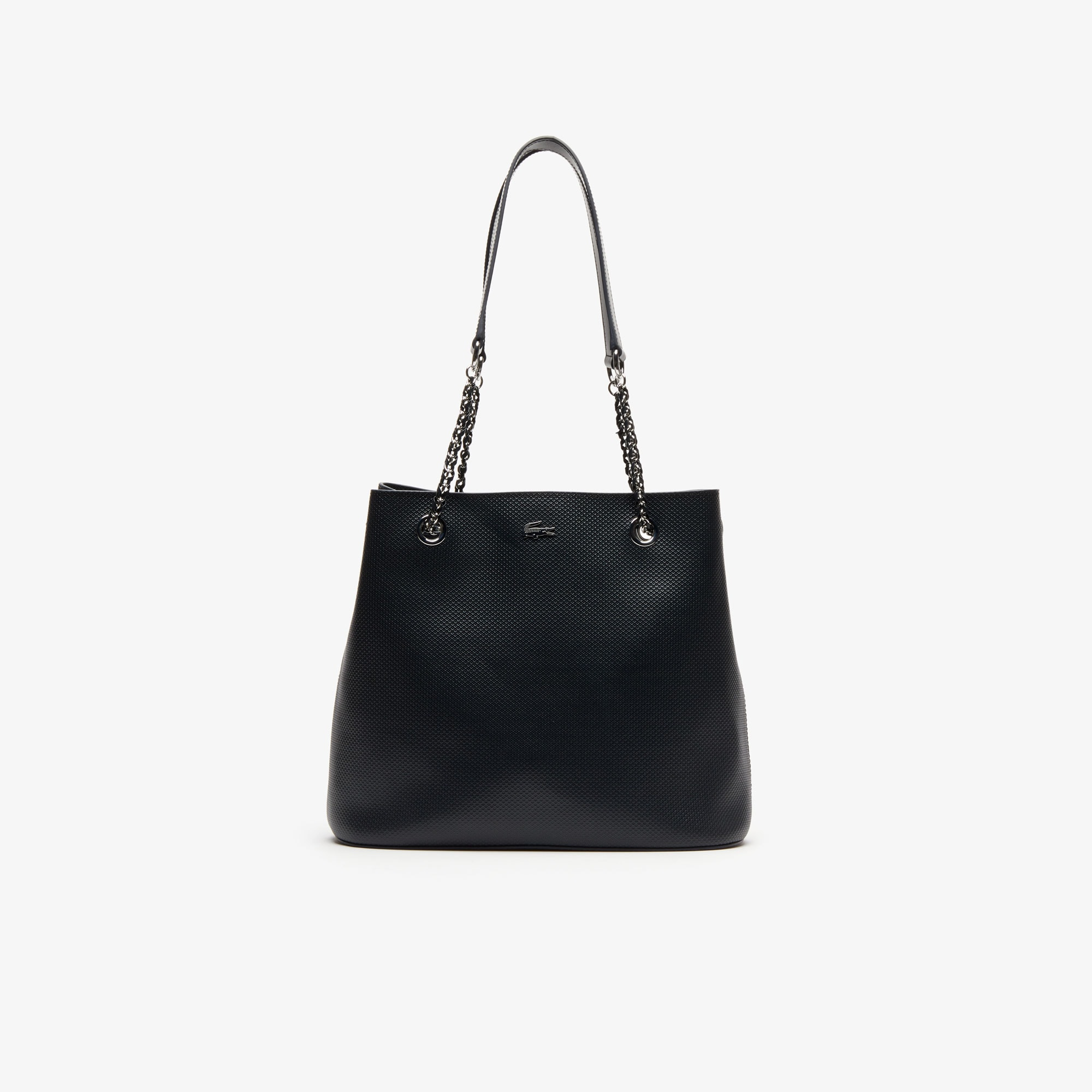 Women's Chantaco Piqué Leather Bucket Bag