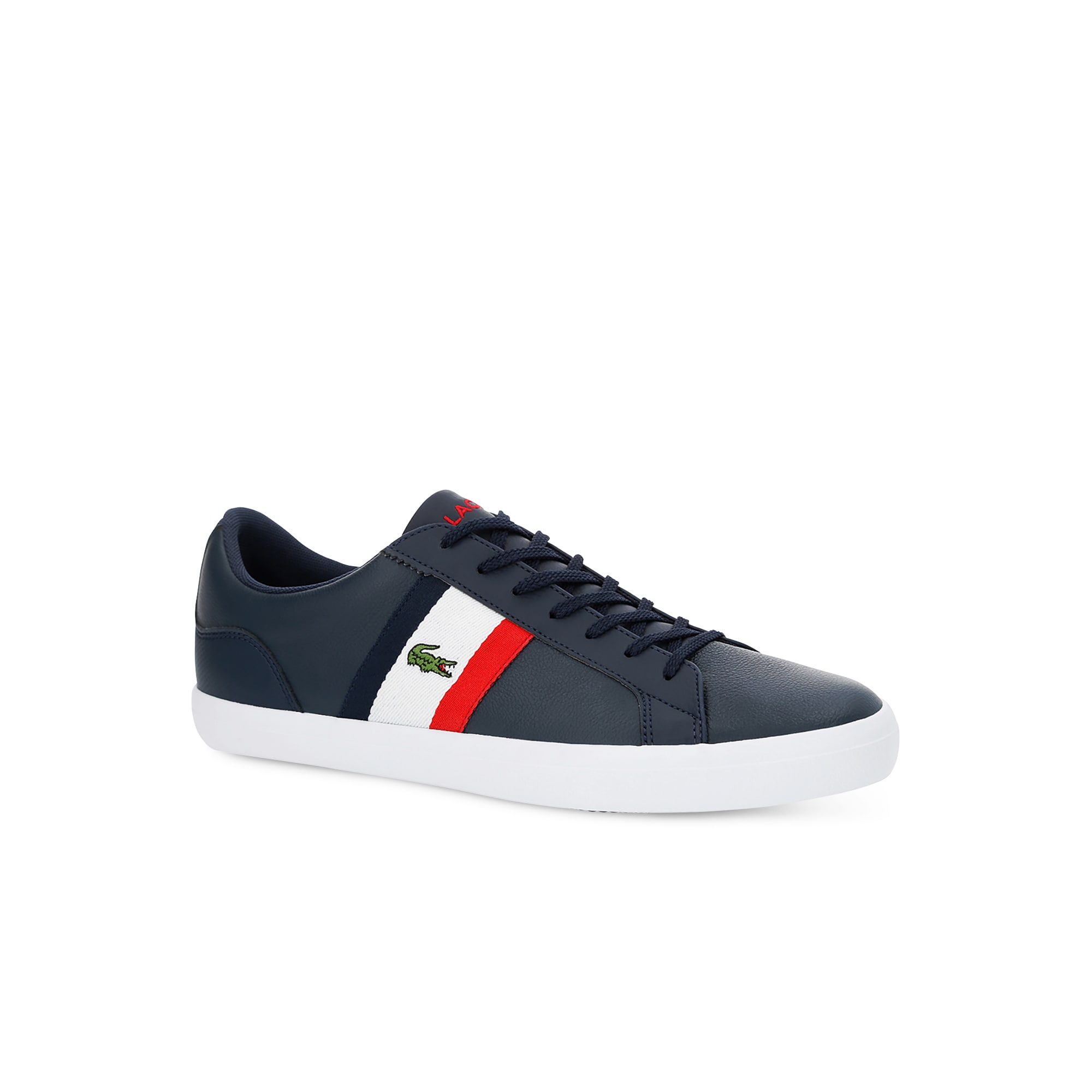 Men's Lerond Tumbled Leather Trainers