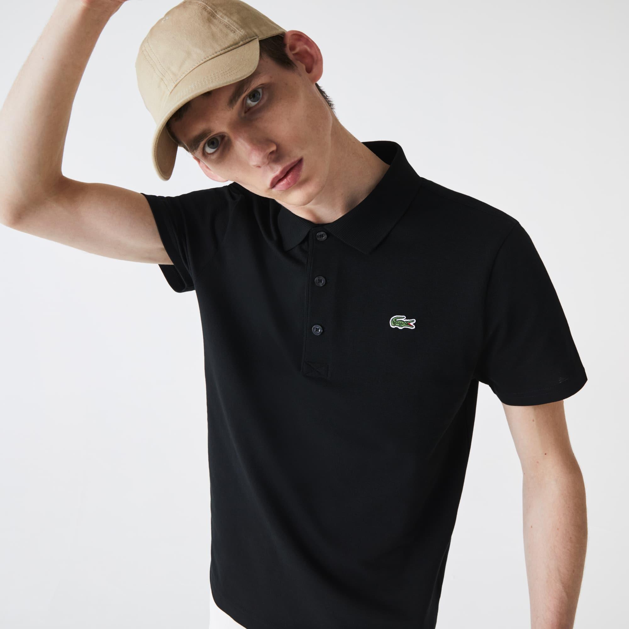 Men's Lacoste SPORT Tennis Ultra-Light Cotton Knit Polo Shirt