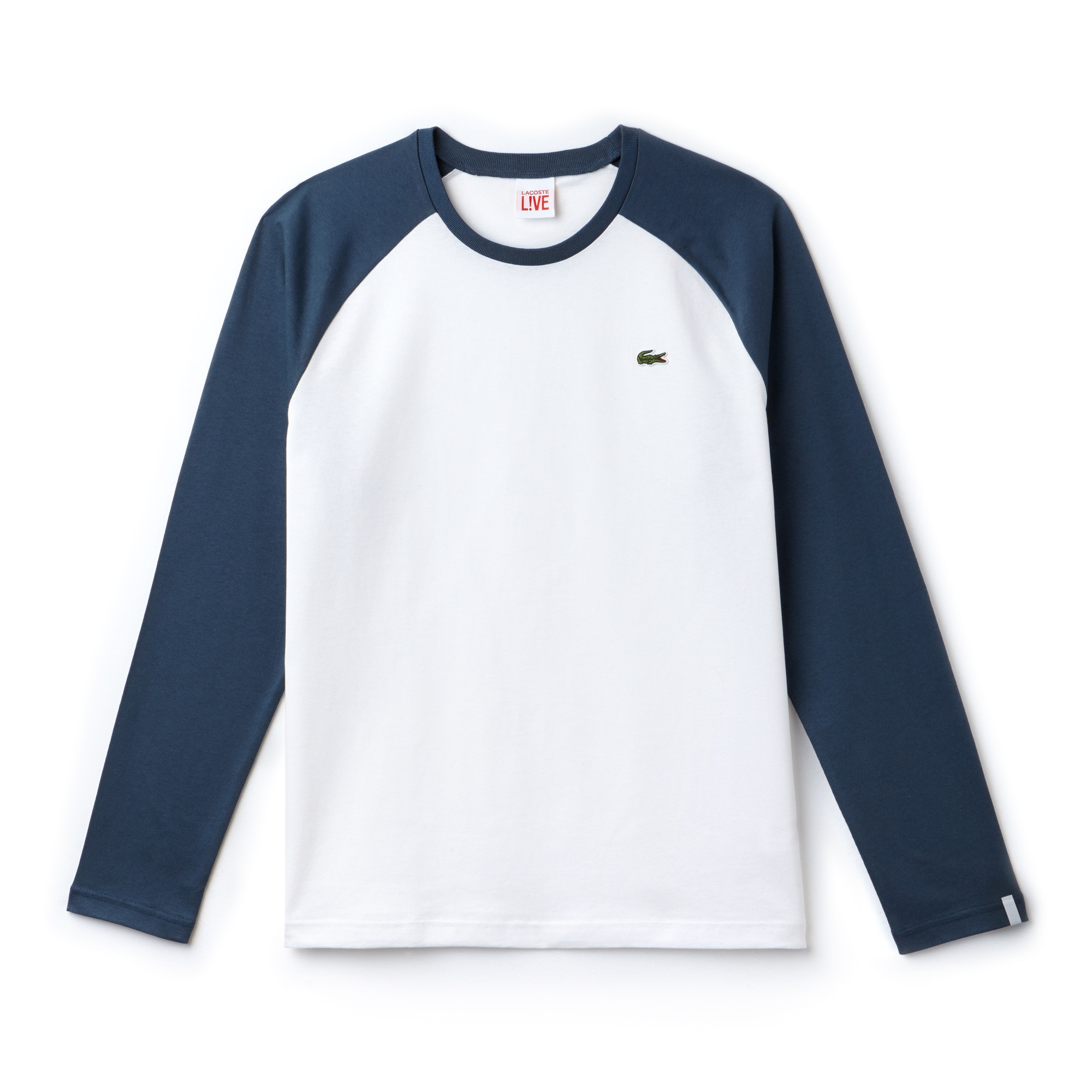 Men's Lacoste LIVE Bicolour Jersey T-shirt