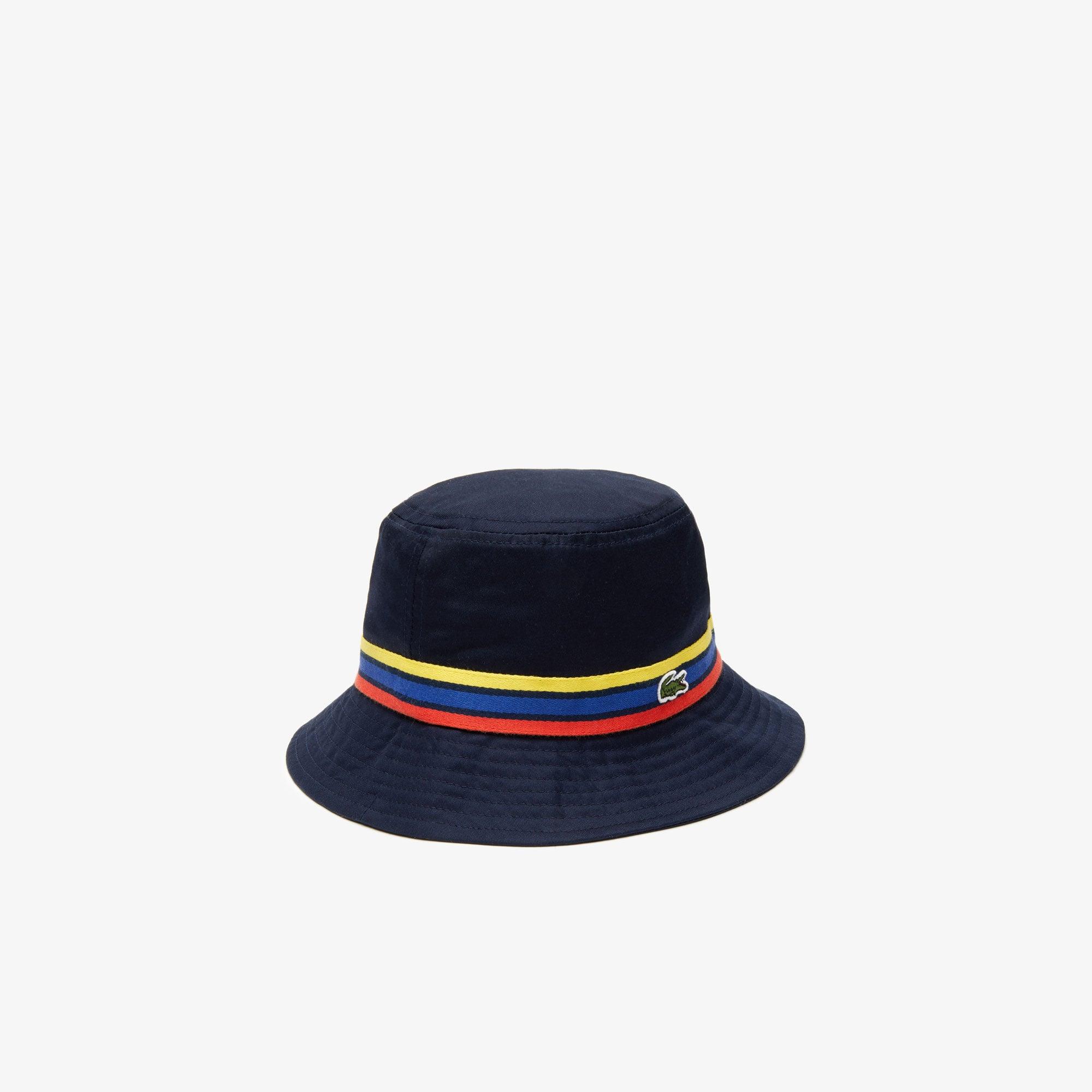 Boys' Tricolour Band Cotton Hat