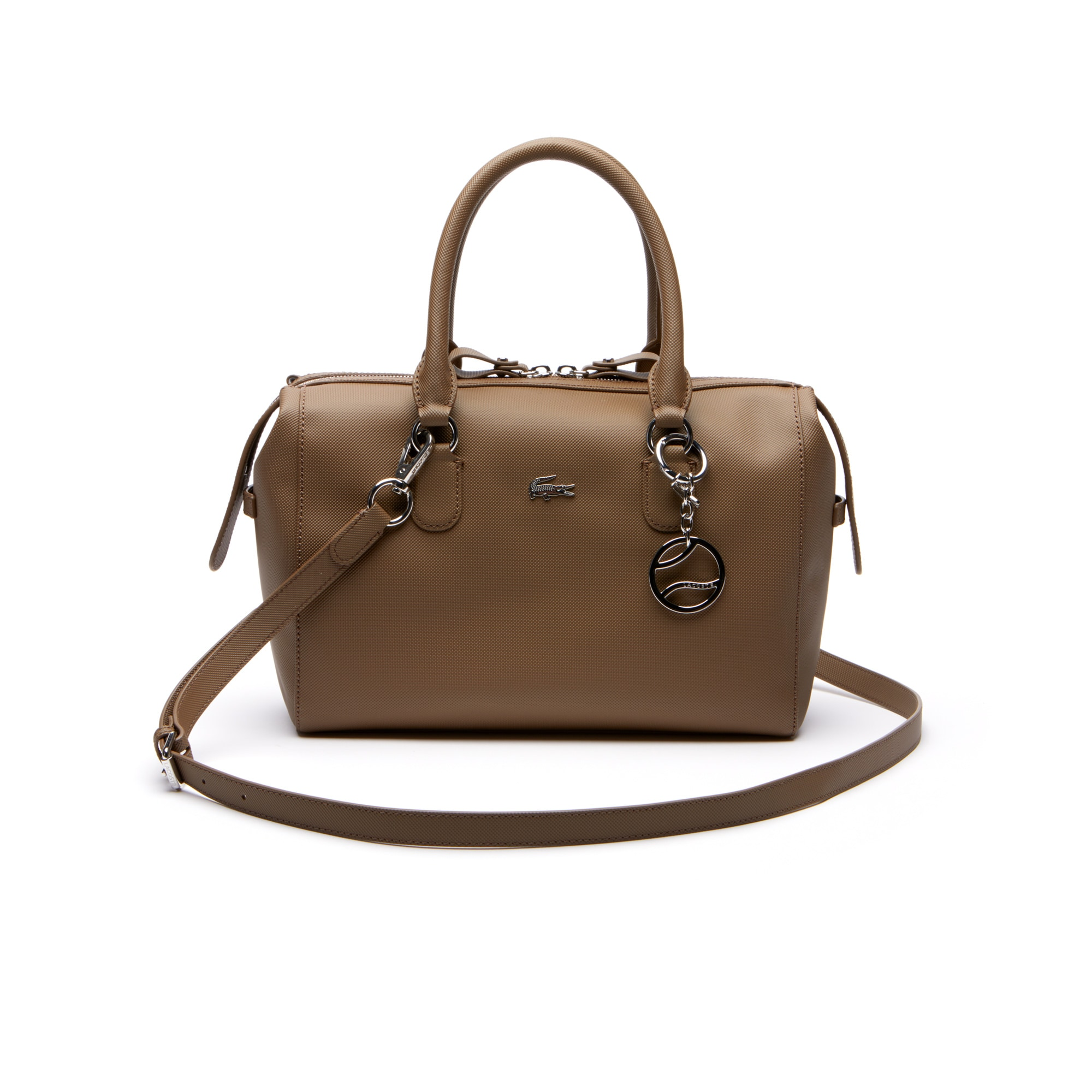 Women's Daily Classic Coated Piqué Canvas Boston Bag