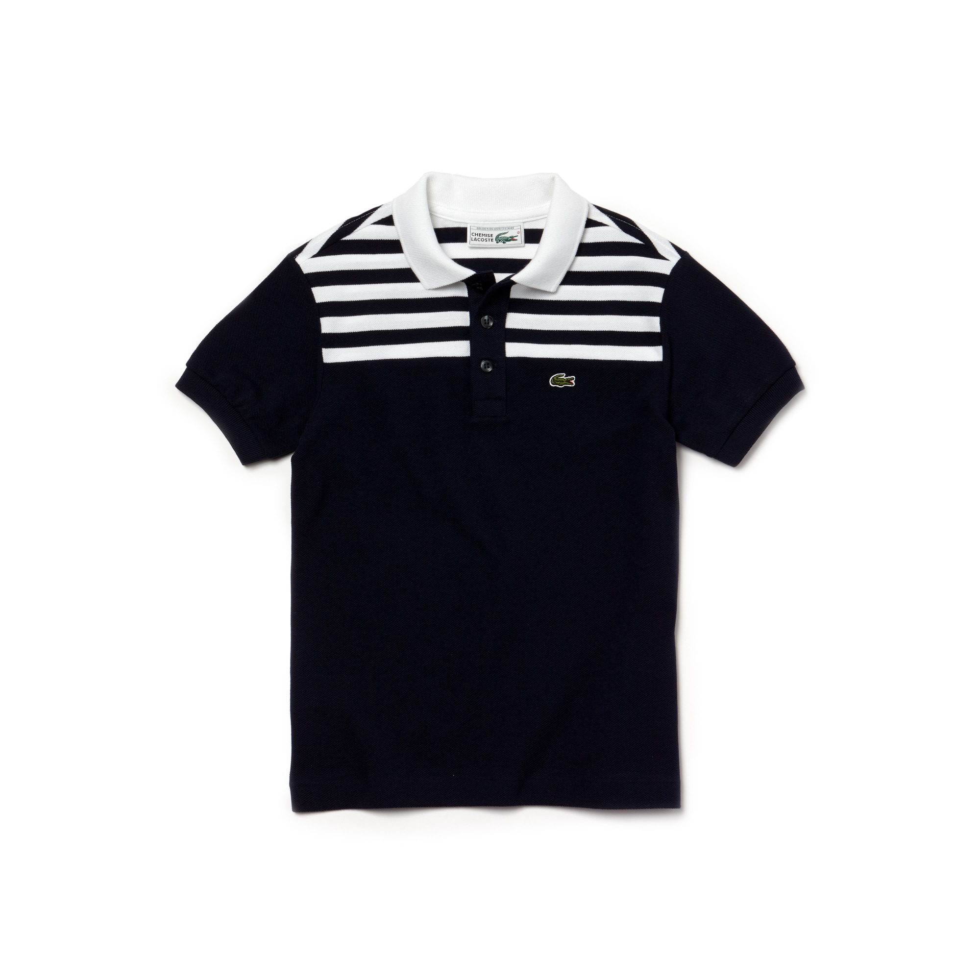 Boys' Lacoste 1980s Revival 85th Anniversary Limited Edition Petit Piqué Polo Shirt