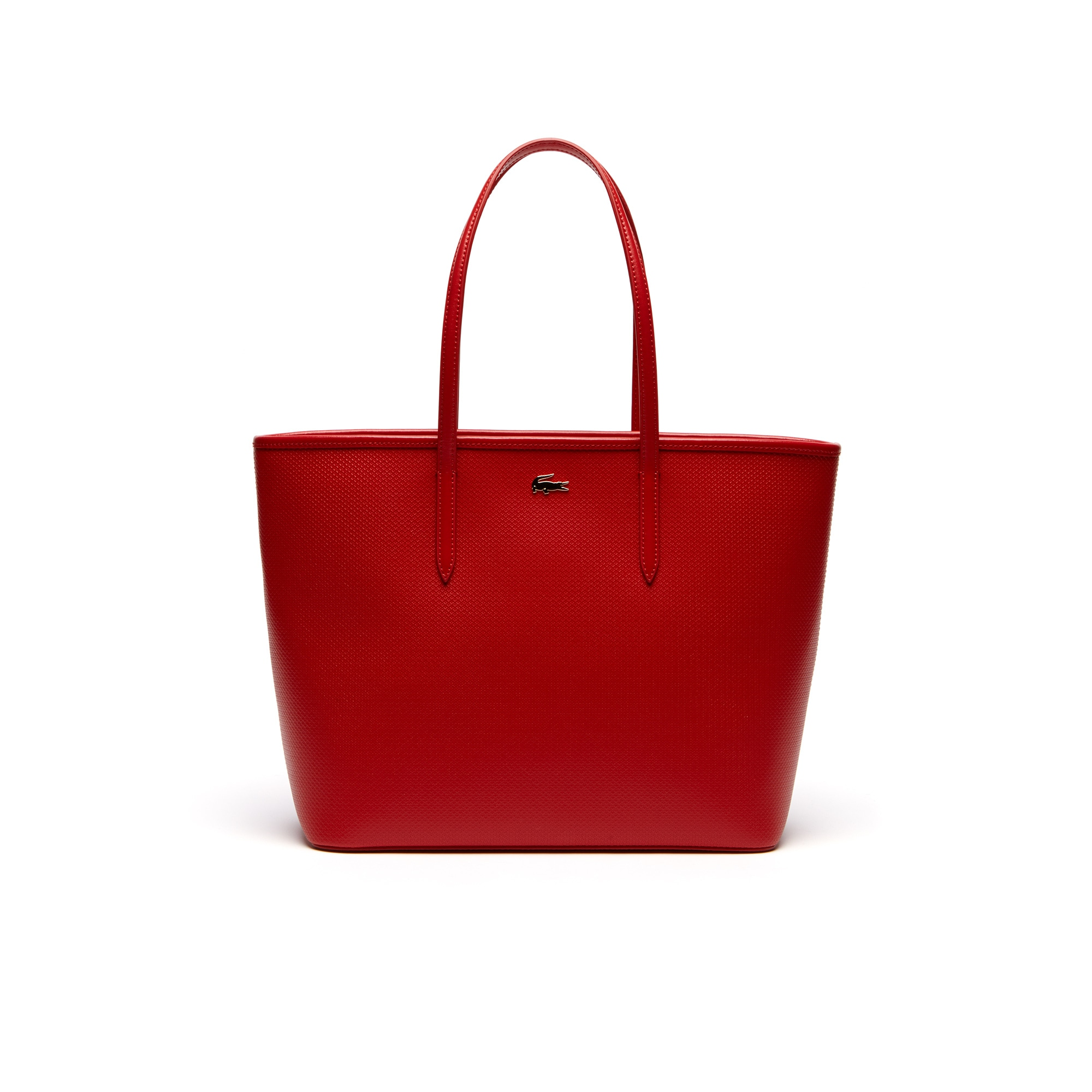 Chantaco zip tote bag in leather
