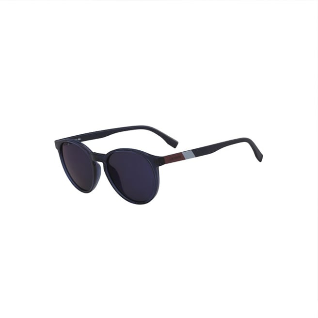 Unisex Color Block Sunglasses with Plastic Frames
