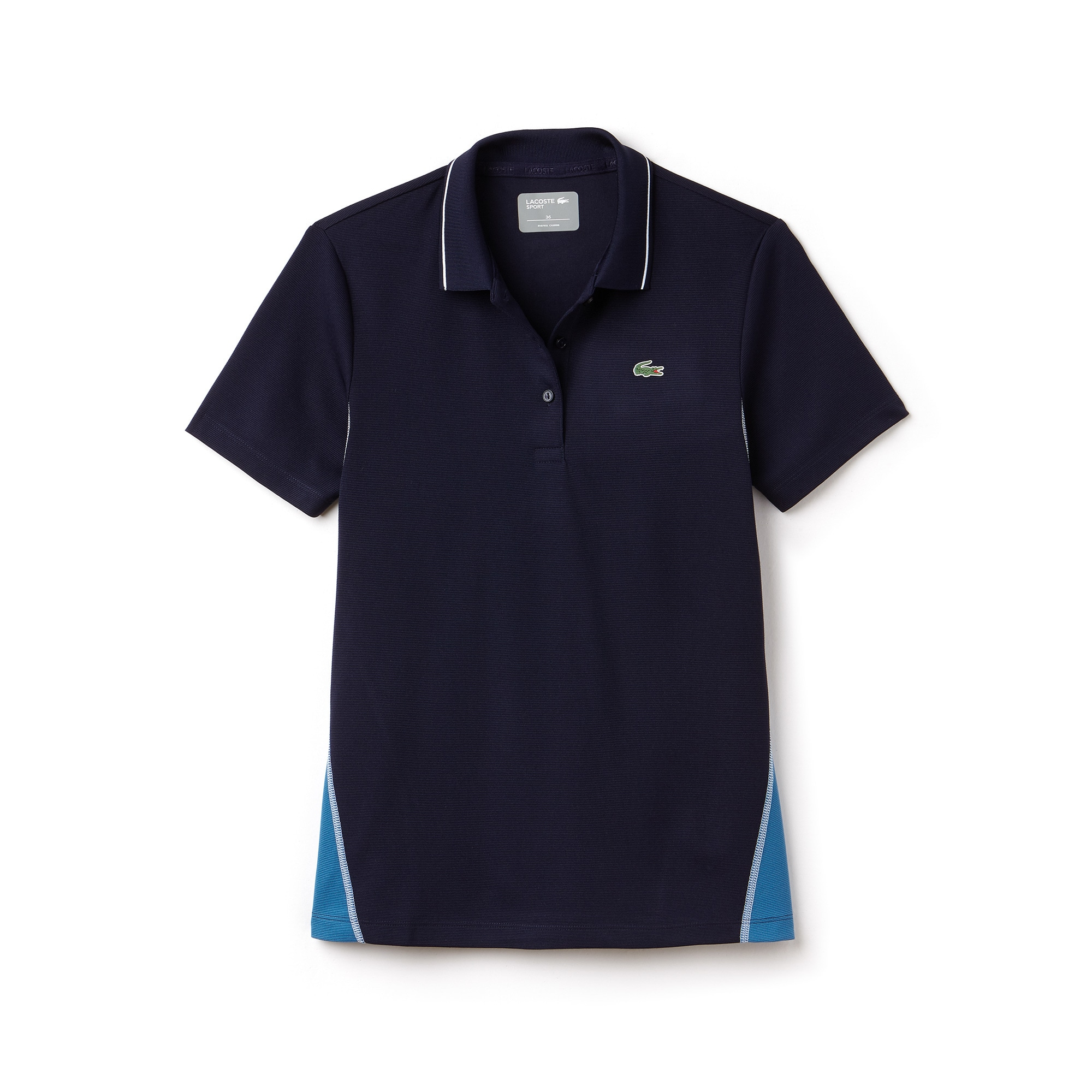 Women's Lacoste SPORT Technical Cotton Knit Golf Polo