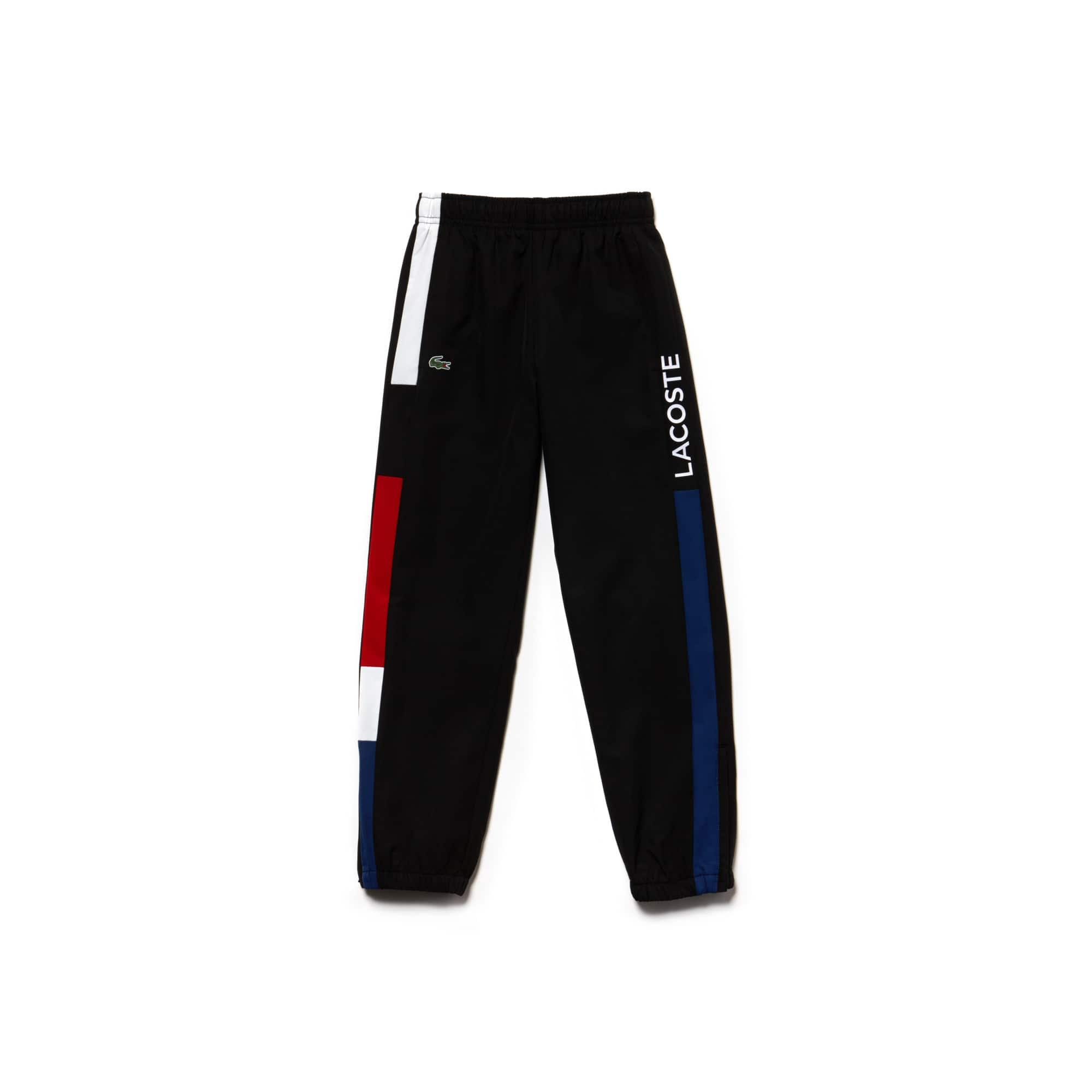 Boys' Lacoste SPORT Taffeta Tennis Trackpants