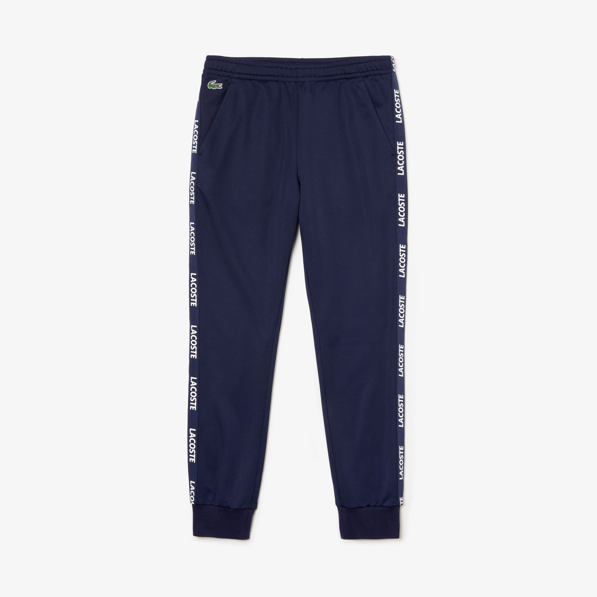 Men's Lacoste SPORT Signature Bands Piqué Sweatpants
