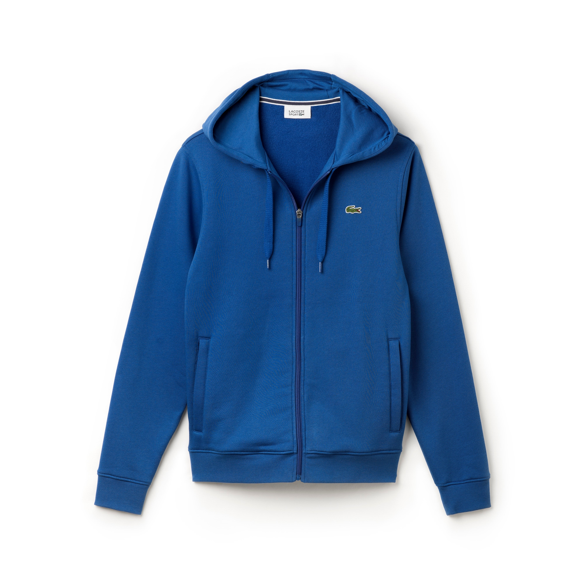 9ab1e51f8c Men's Lacoste SPORT Tennis hooded zippered sweatshirt in fleece ...