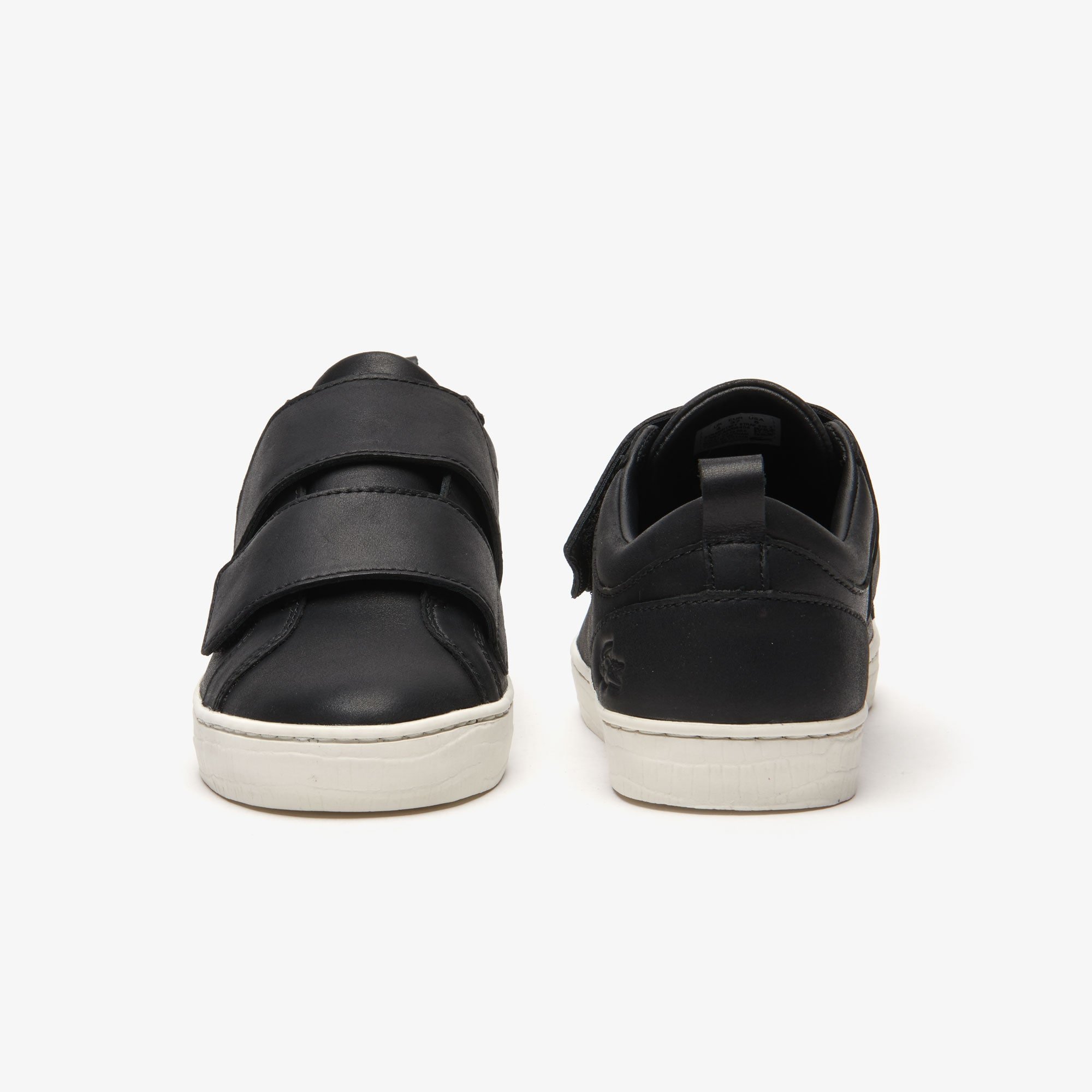 Women's Straightset Strap Leather Trainers