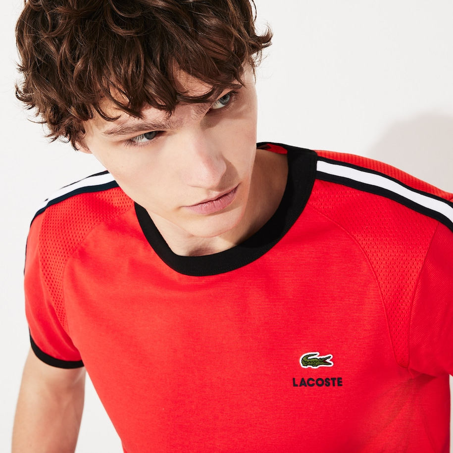 Men's Lacoste SPORT Contrast Accents Ultra-Light T-shirt