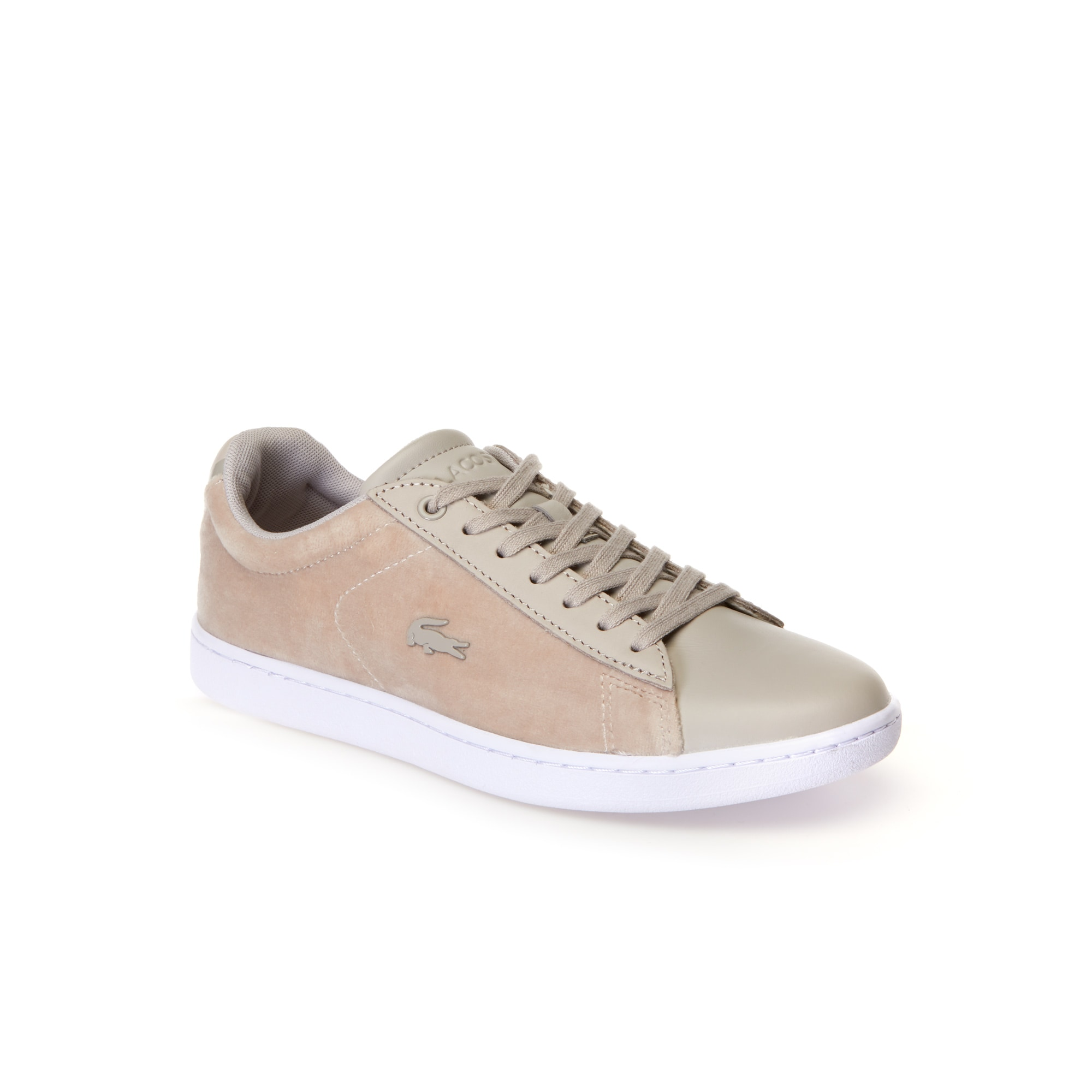Women's Carnaby Evo Velvet and Leather Trainers