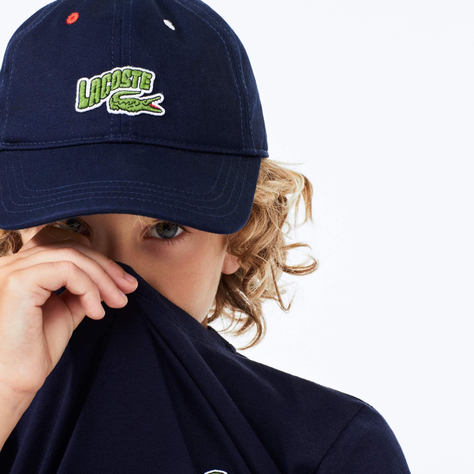 Boys' Croc Wave Badge Cotton Cap