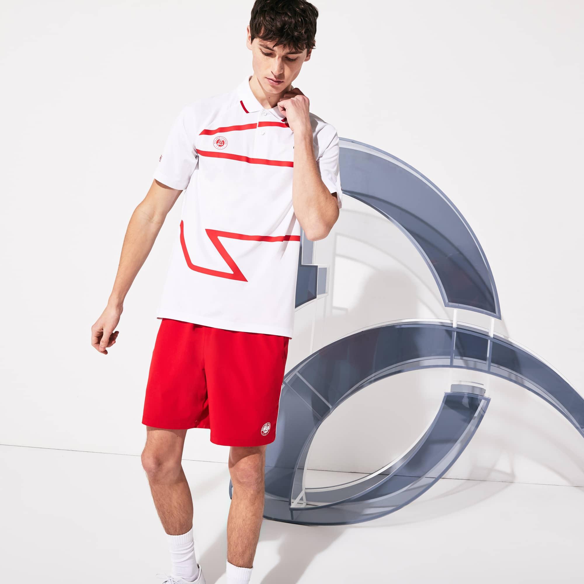 Men S Lacoste Sport Roland Garros X Novak Djokovic Polo Shirt Lacoste