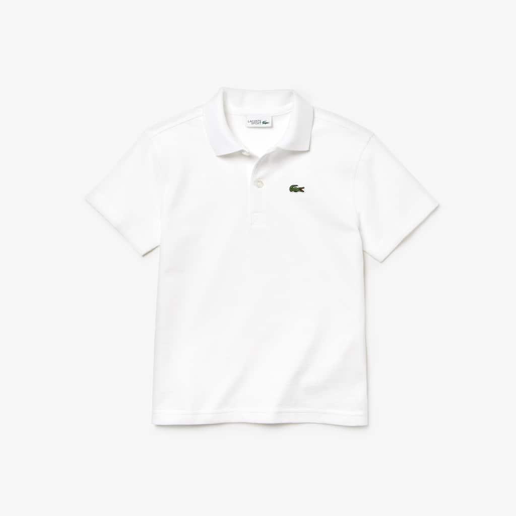 97d65ac7 Boys' Lacoste SPORT Colourblock Ultra-Light Cotton Tennis Polo Shirt ...