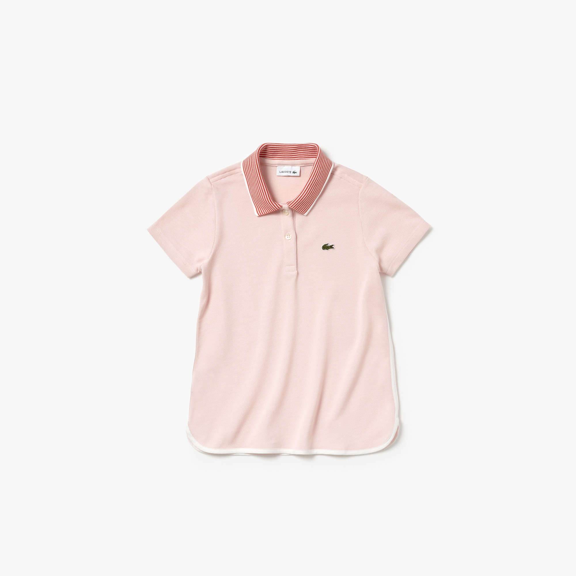 Girls' Lacoste Colourblock Petit Piqué Polo Shirt
