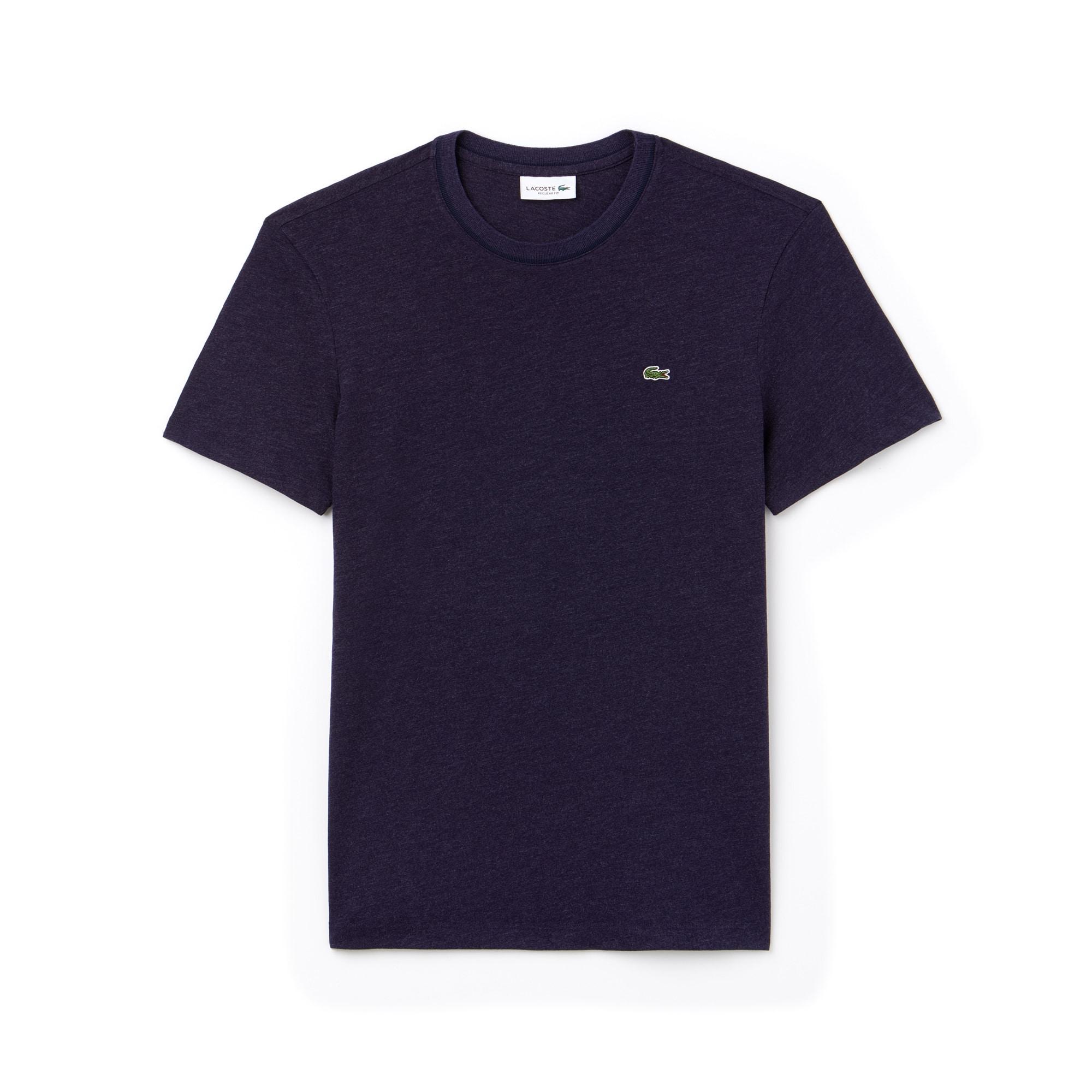 Men's Crew Neck Flamme Cotton Jersey T-shirt