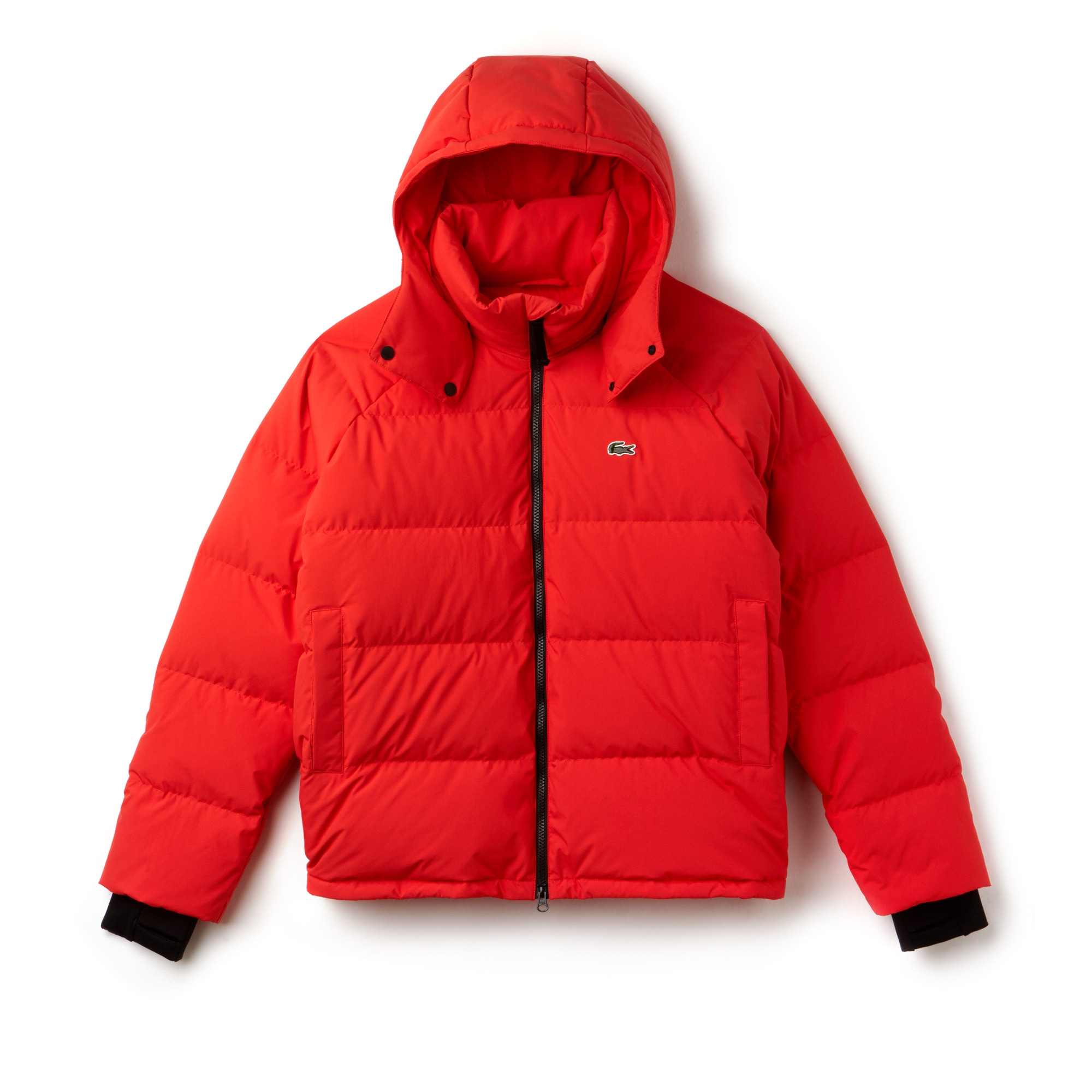 Men's Lacoste LIVE Short Water-Resistant Taffeta Quilted Jacket