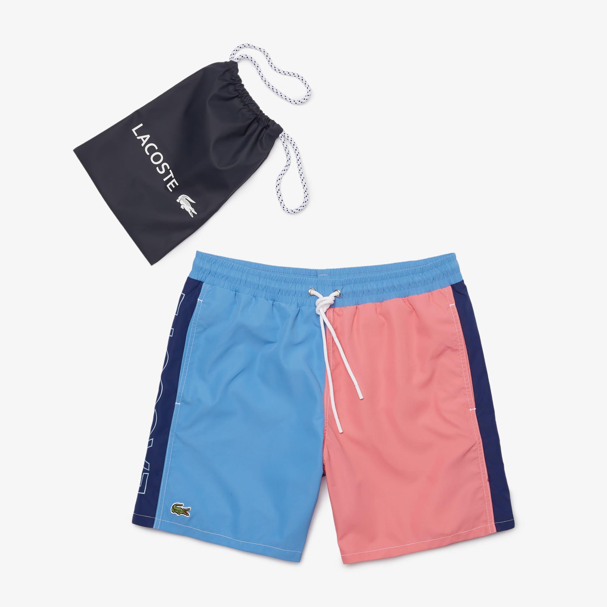 Lacoste Mh5530 Colourblock Swimming trunks Blue//Orange//Yellow 876
