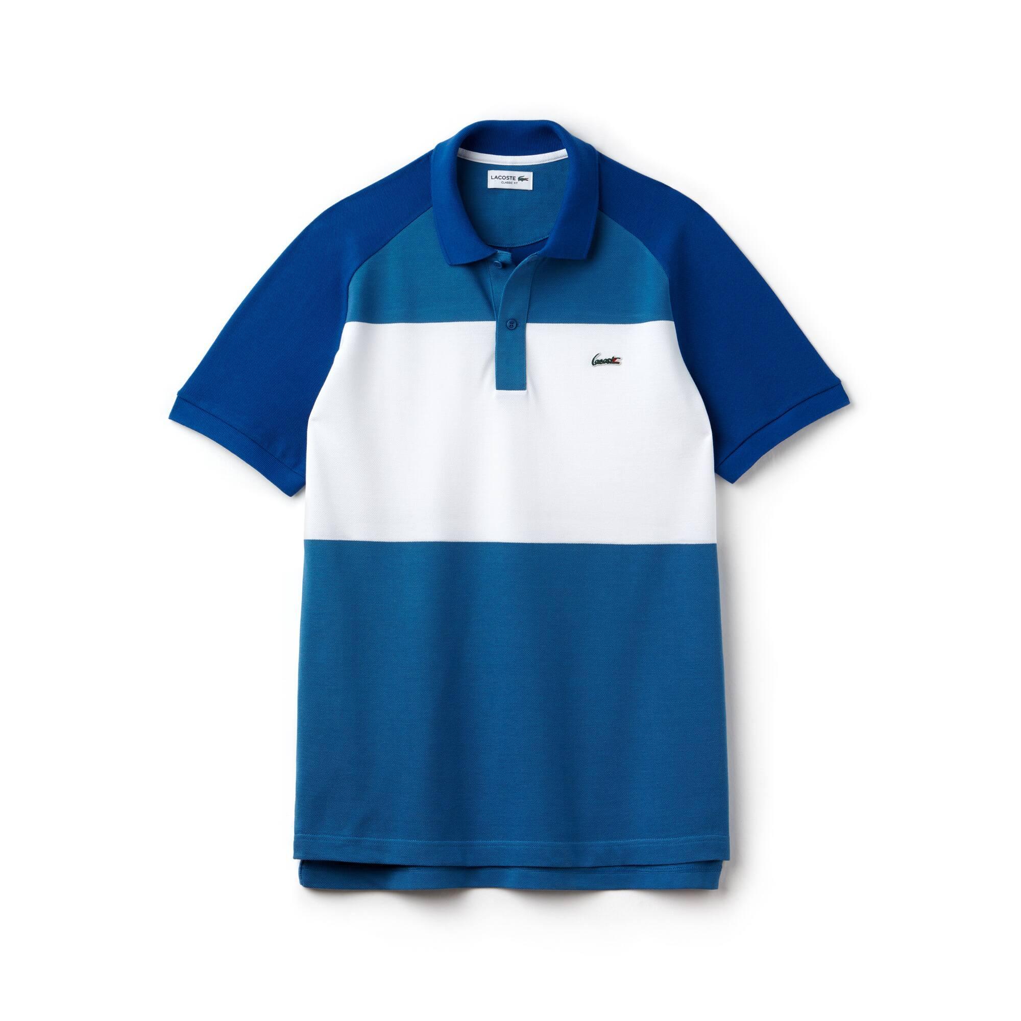 Men's Lacoste L.12.12 Colorblock Cotton Petit Piqué Polo Shirt