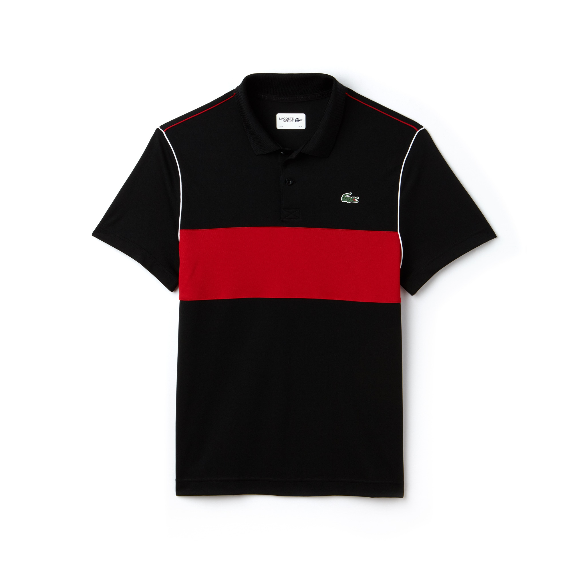 Men's Lacoste SPORT Colorblock Technical Piqué Polo Shirt