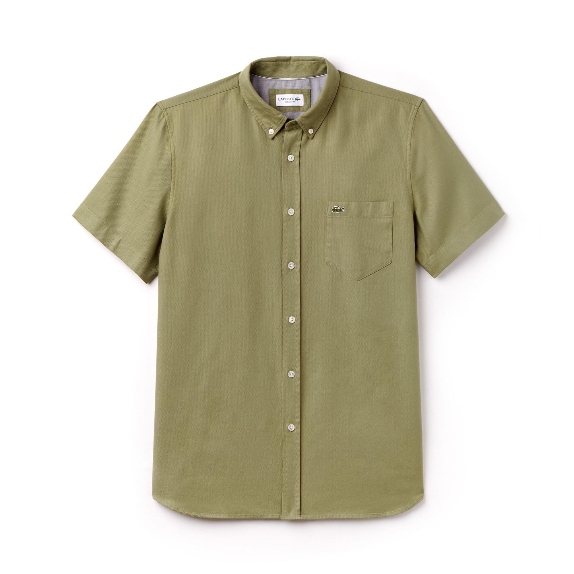 Men's Regular Fit Piqué Shirt