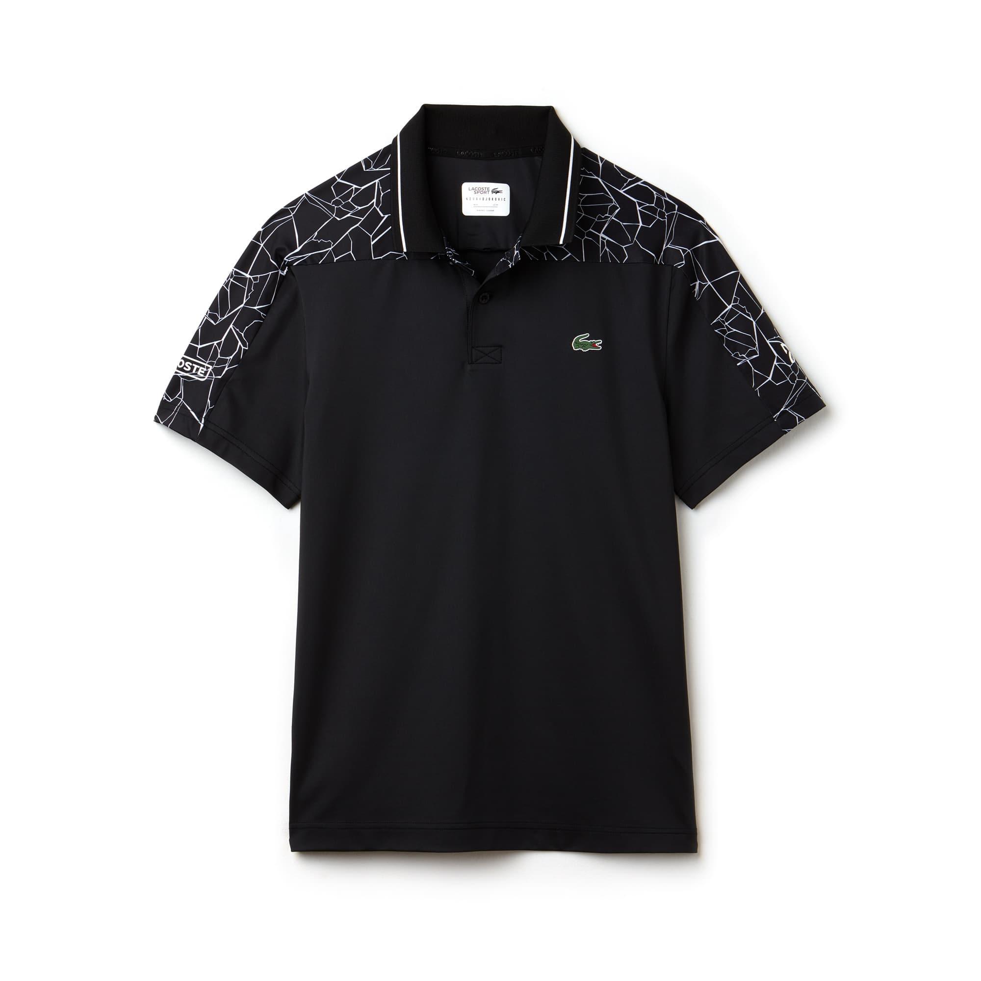 Men's Lacoste SPORT NOVAK DJOKOVIC-ON COURT COLLECTION Stretch Technical Jersey Polo Shirt