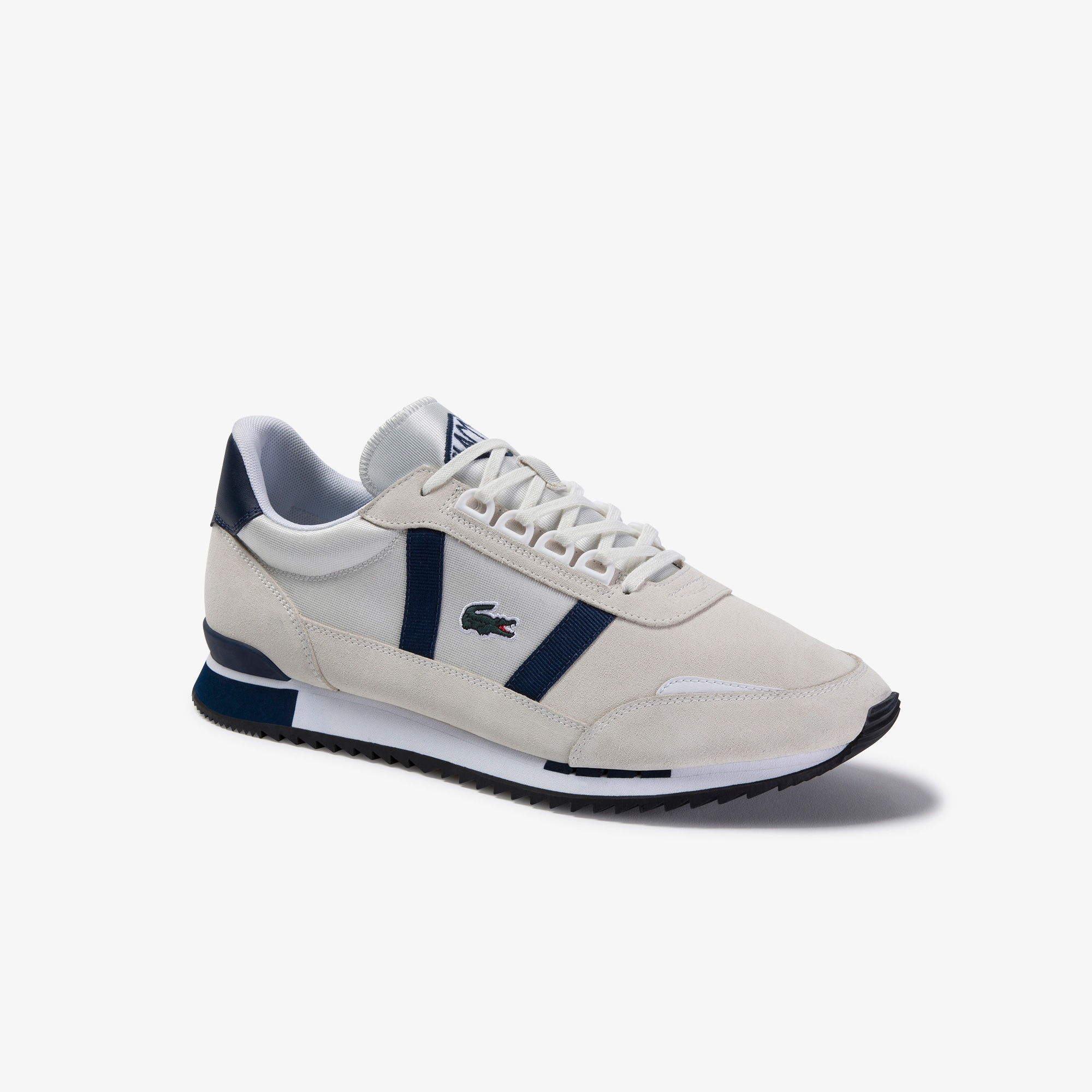 Men's Partner Retro Textile Trainers
