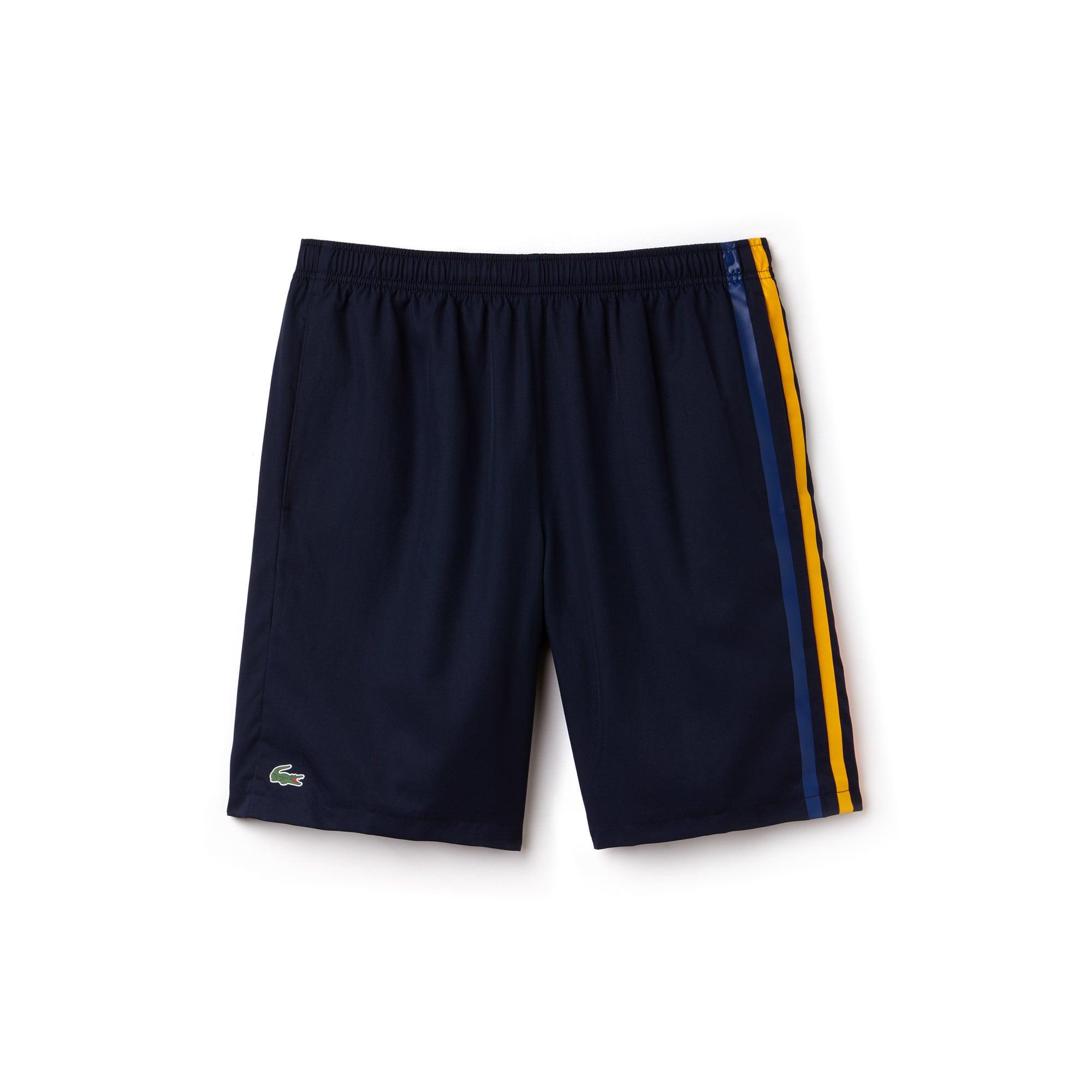 Men's Lacoste SPORT Colored Bands Taffeta Tennis Shorts