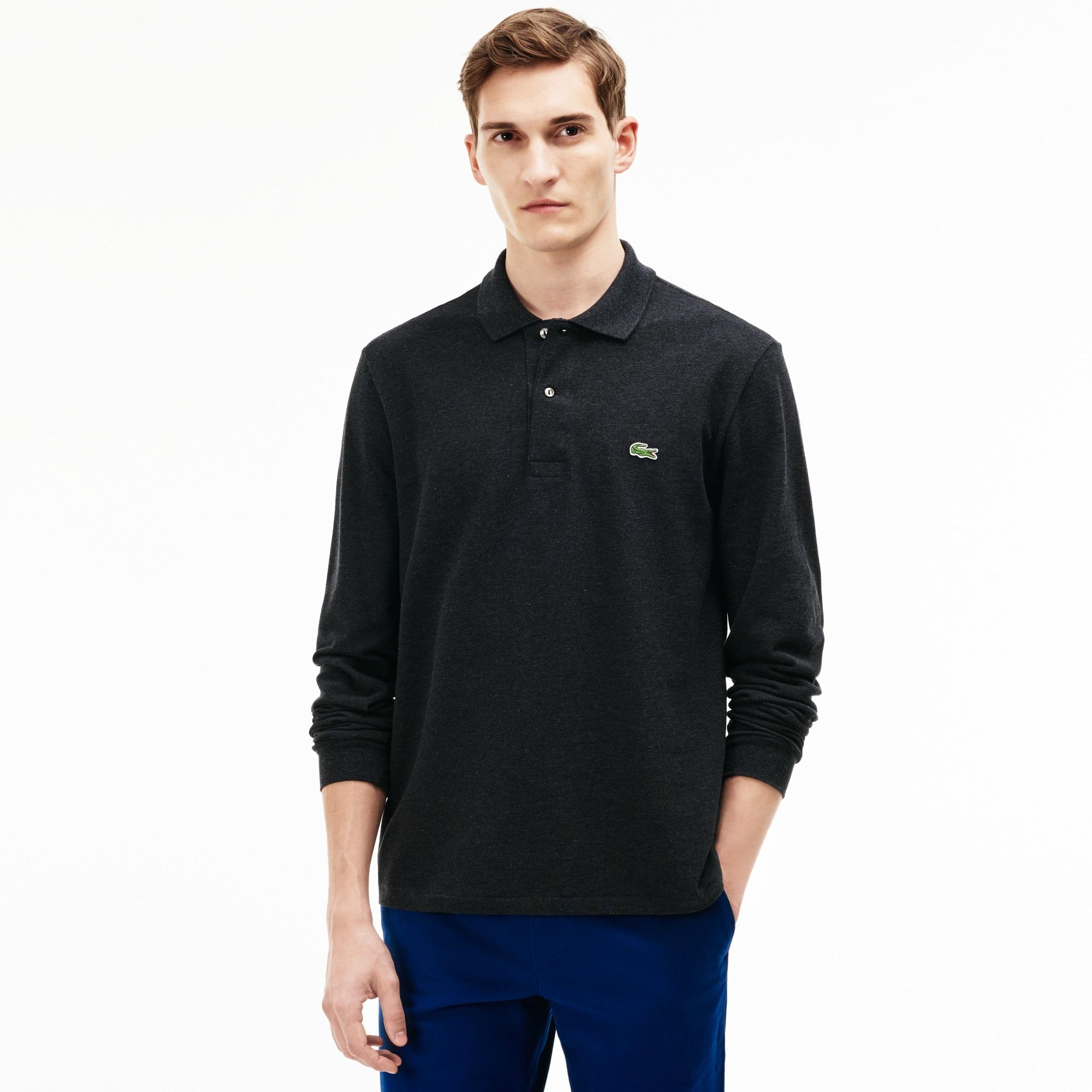 long sleeves polo shirts men 39 s fashion lacoste. Black Bedroom Furniture Sets. Home Design Ideas
