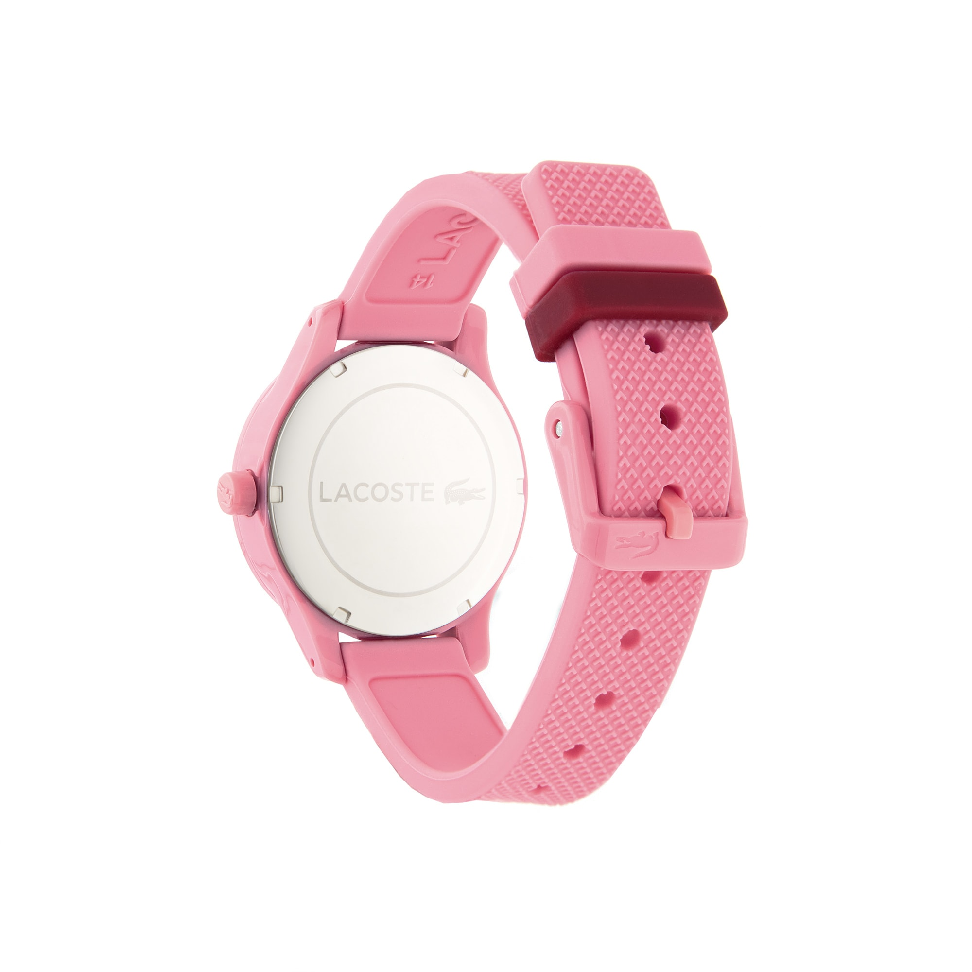 Kids Lacoste 12.12 Watch with Pink Silicone Strap
