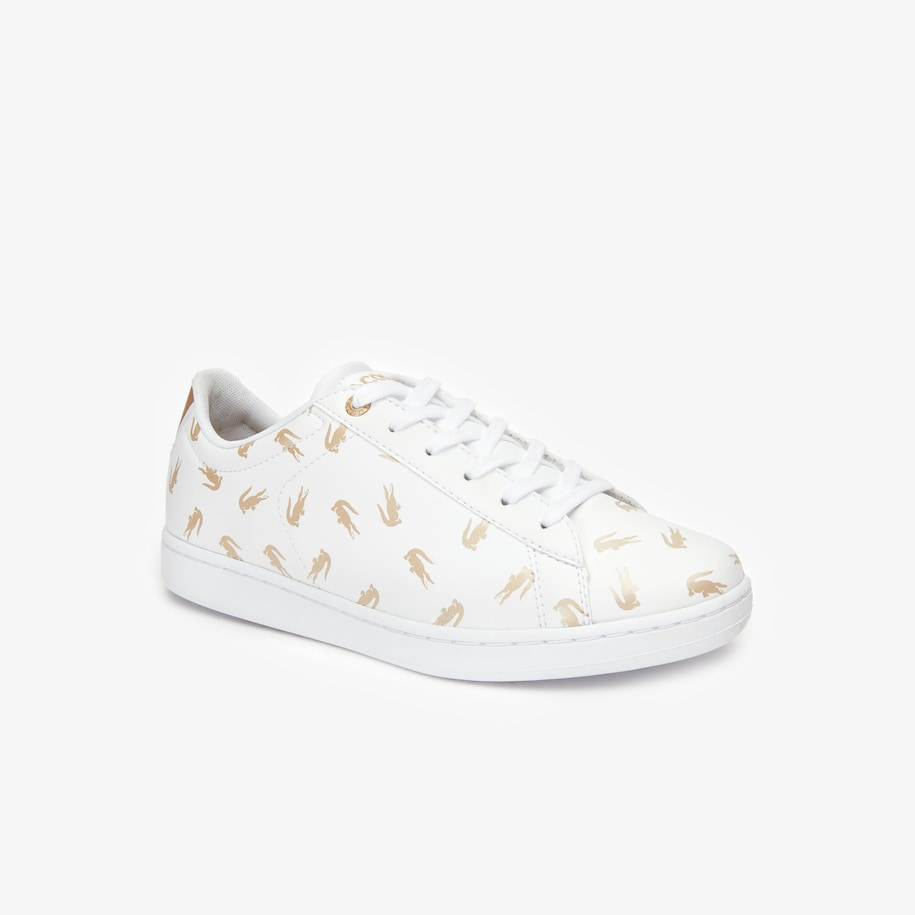 Juniors' Carnaby Evo Lace-up Metallic Synthetic Trainers
