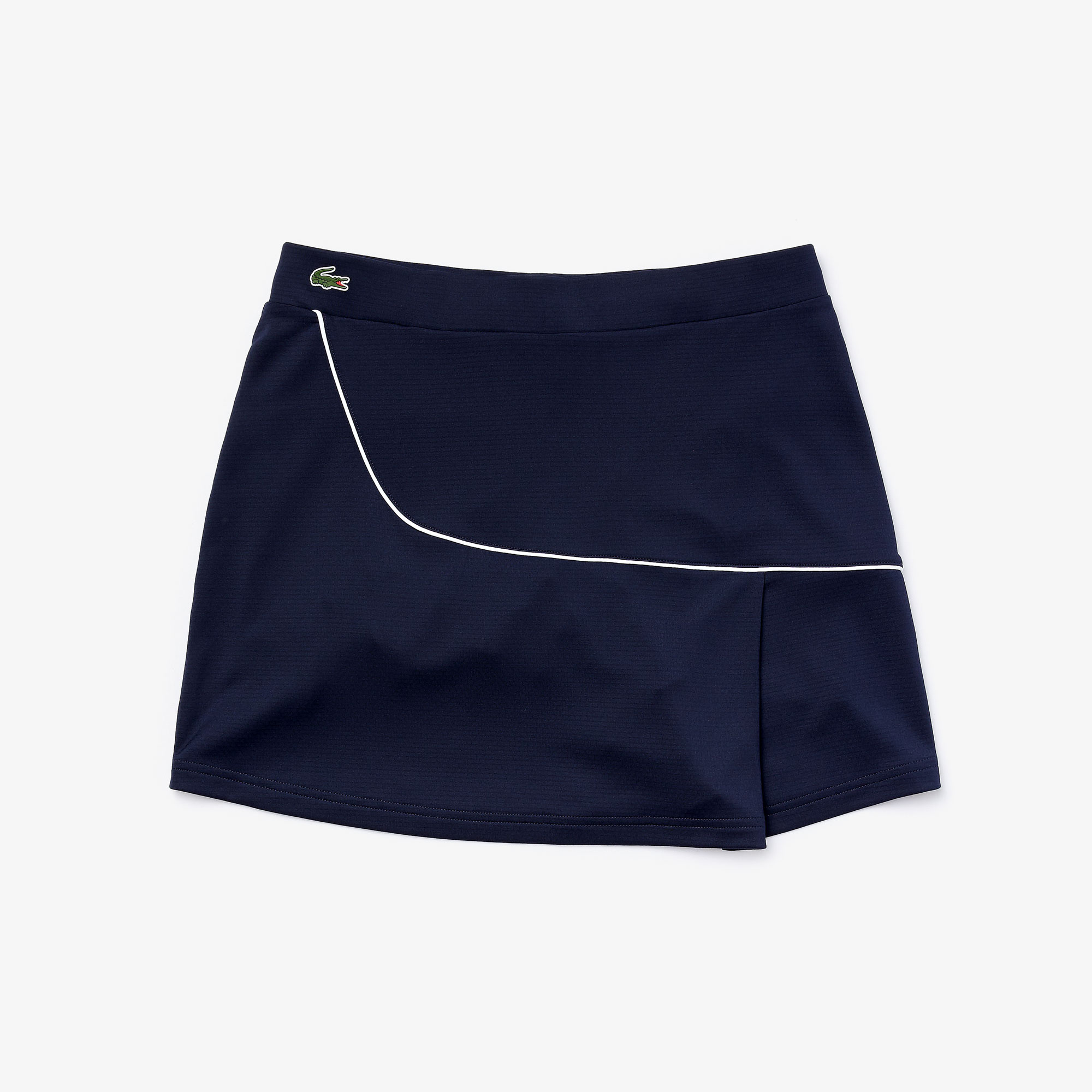 Women's Lacoste SPORT Built-in Shorty Breathable Stretch Golf Skirt