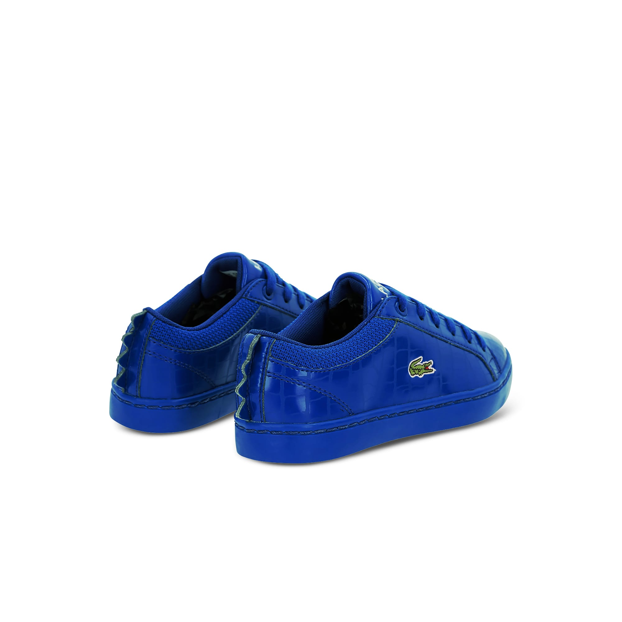 Children's Straightset Synthetic Crocodile SkinTrainers