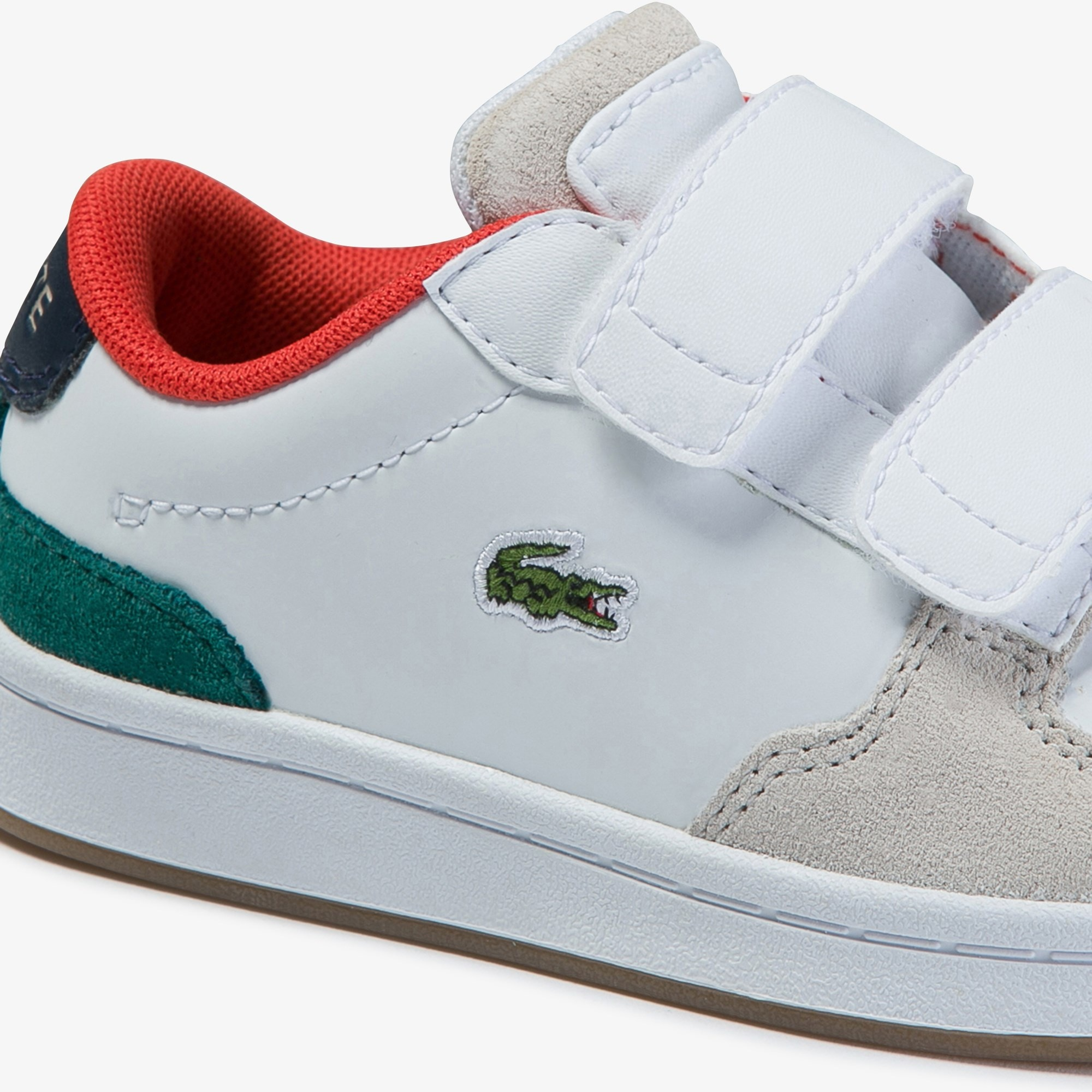 Infants' Masters Cup Metallic Leather and Suede Trainers