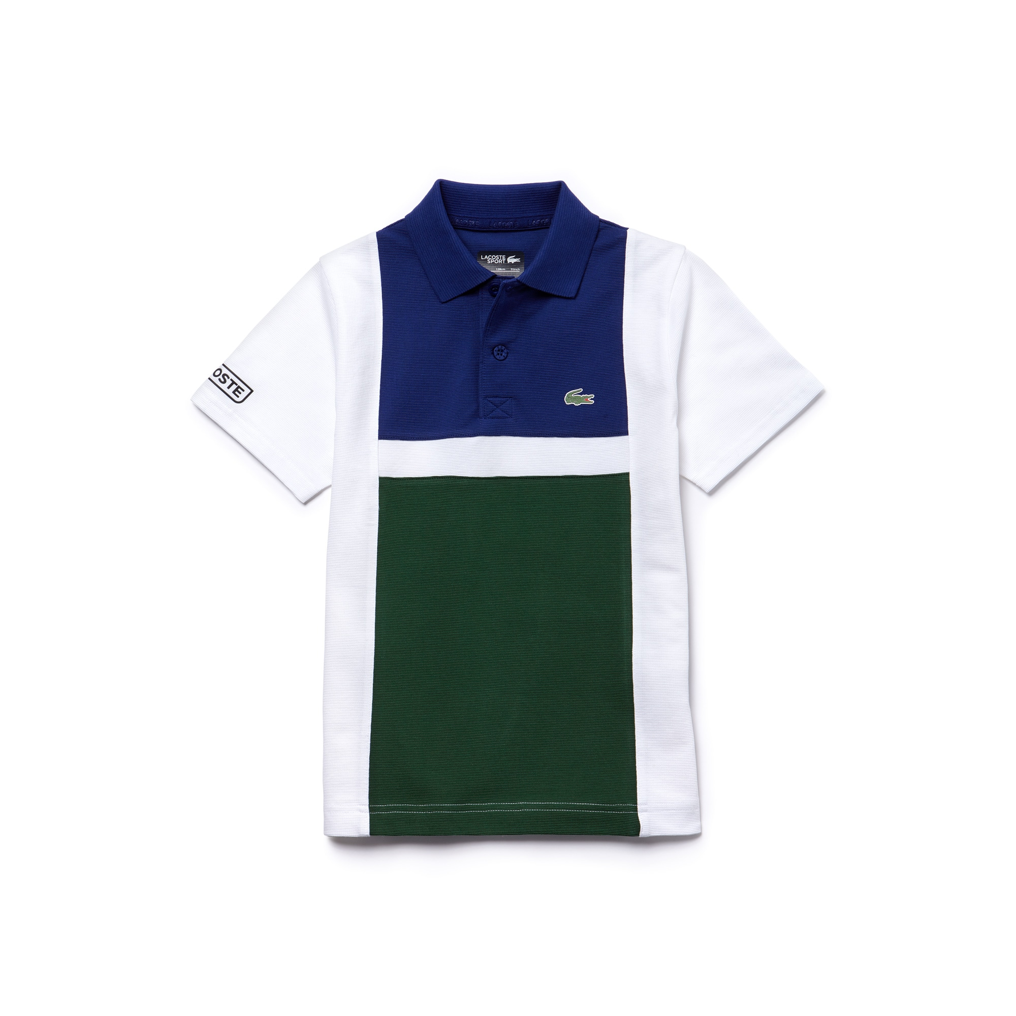 Boys' Lacoste SPORT Tennis Colorblock Ultra-Light Cotton Polo