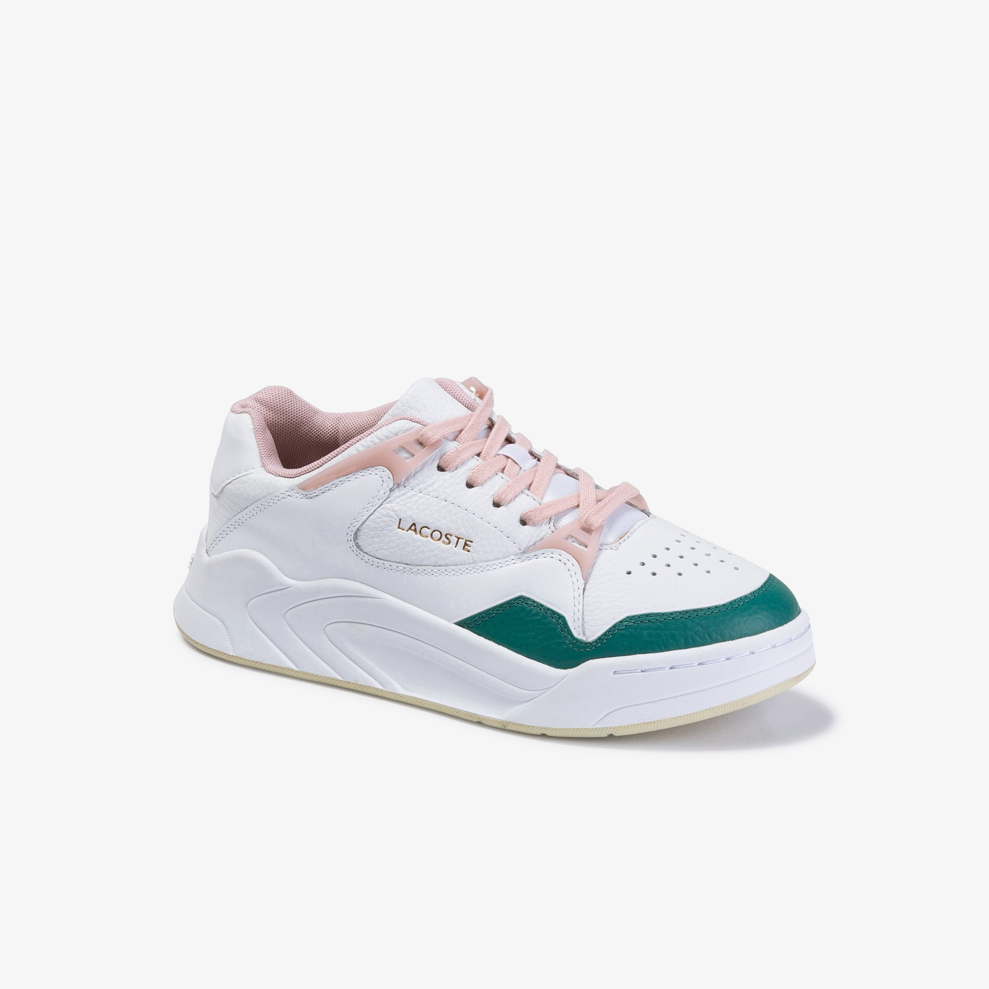 Women's Court Slam Leather and Synthetic Trainers