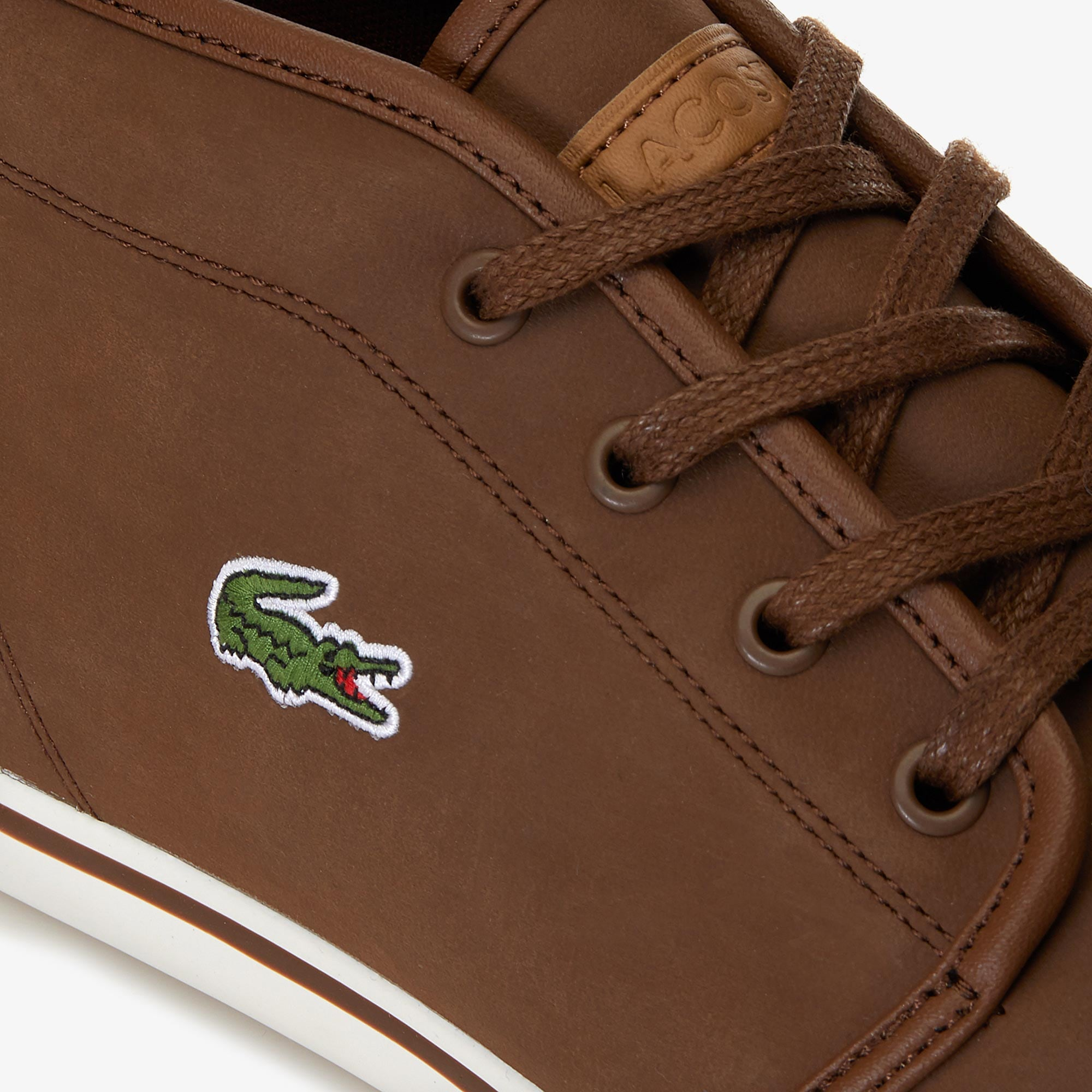 661cd07d18 Men's Ampthill Chukka Leather Trainers | LACOSTE