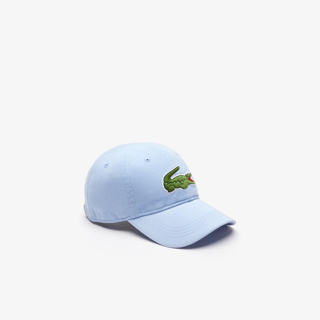 3eb67dd5603 Men s Gabardine cap with oversized crocodile
