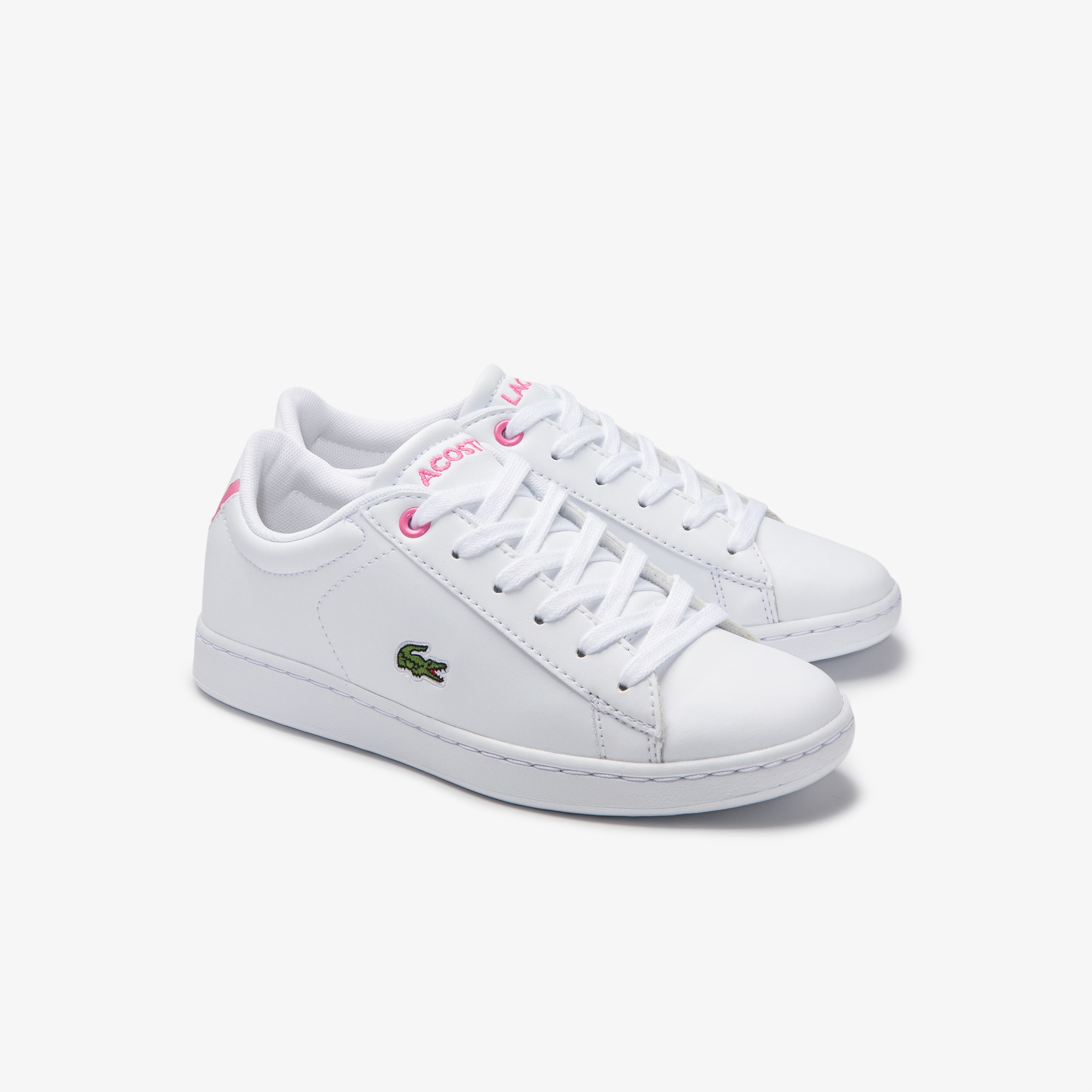 Children's Carnaby Evo Trainers with Green Croc