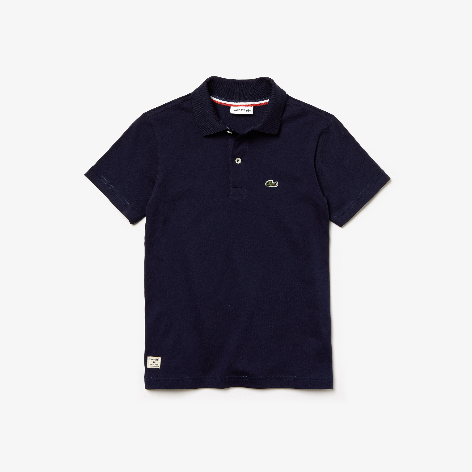 Boys' Lacoste Cotton Jersey Polo Shirt