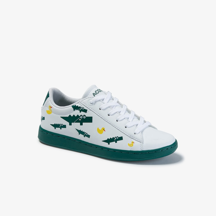 Children's Carnaby Evo Print Synthetic Trainers