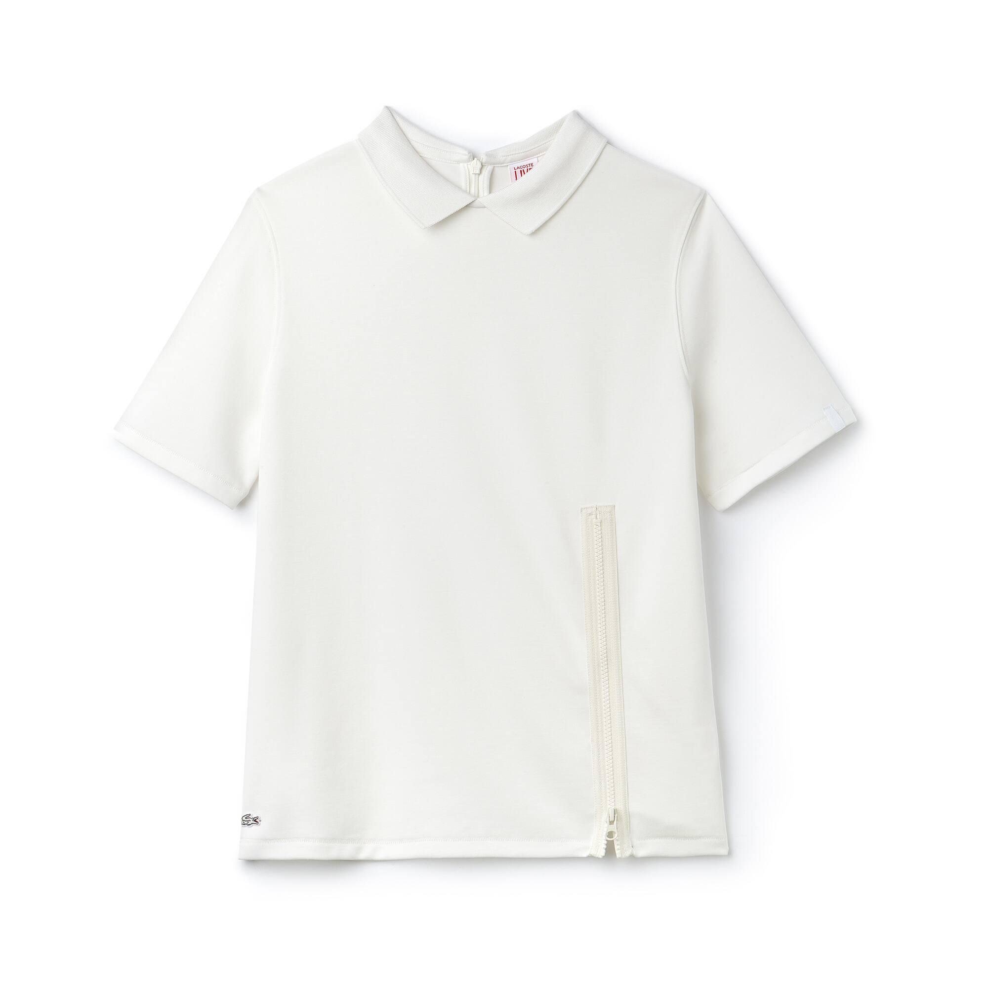 Polo Lacoste LIVE de punto jersey liso con cierre con cremallera