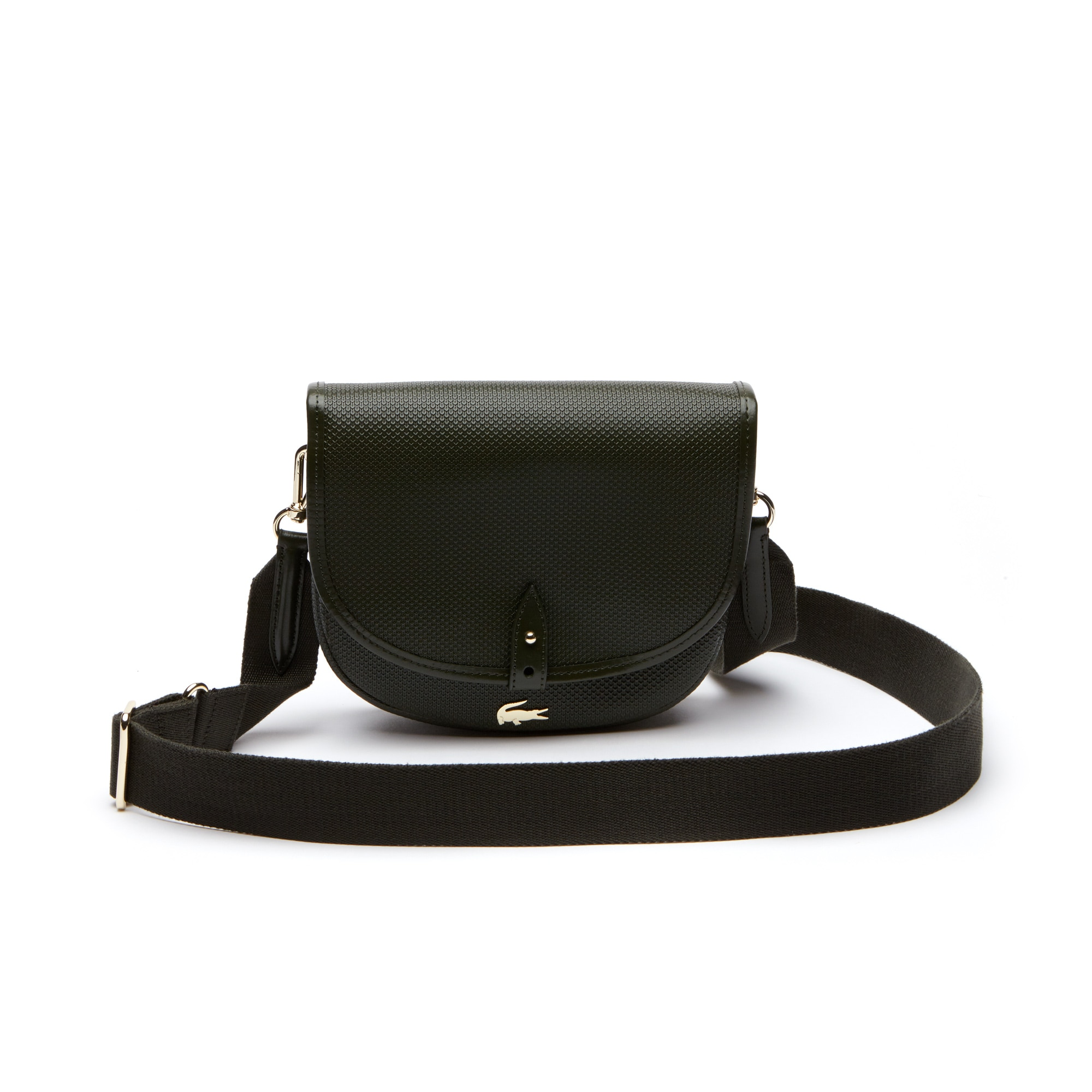 Women's Chantaco Piqué Leather Flap Crossover Bag