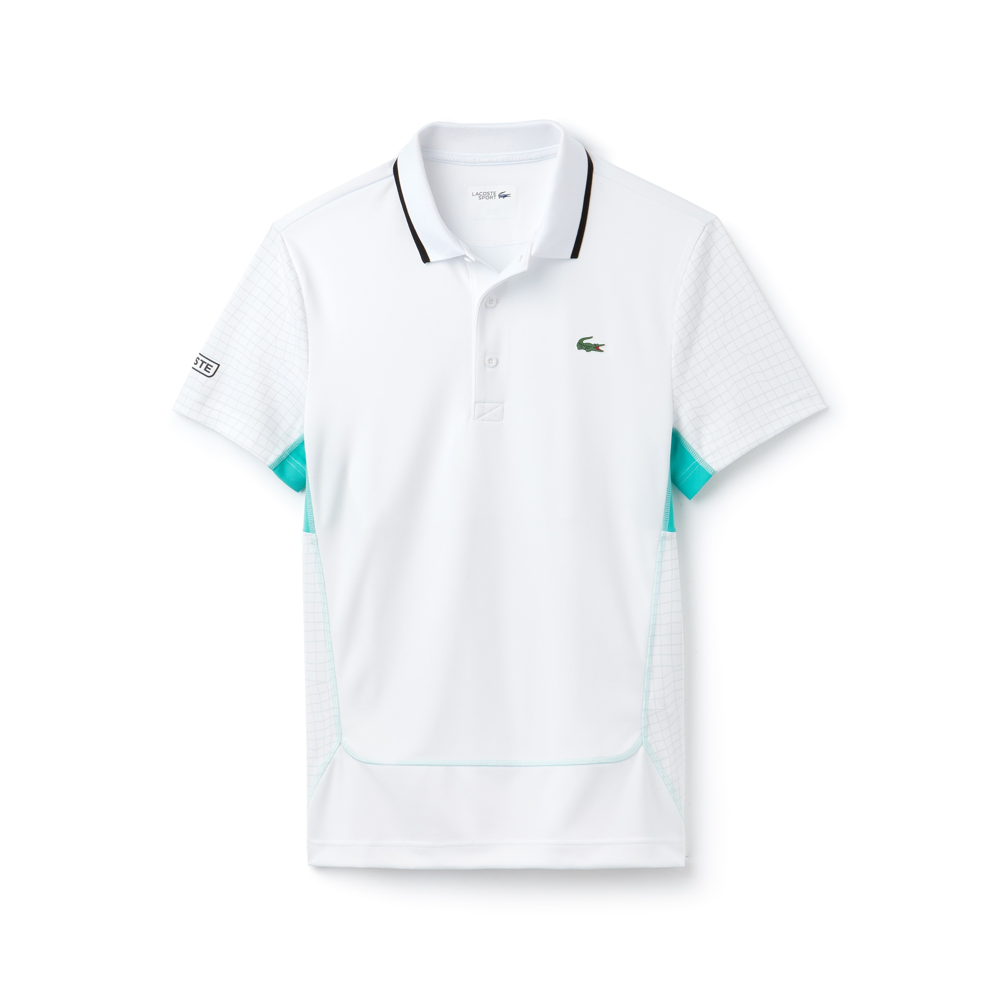 Polo De Hombre Lacoste SPORT Tennis En Piqué Con Estampado De Red