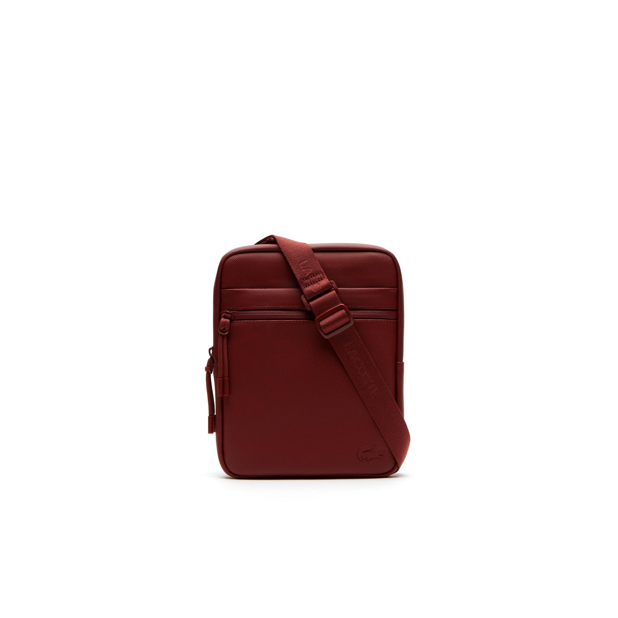 Men's L.12.12 Concept Petit Piqué Flat Zip Bag