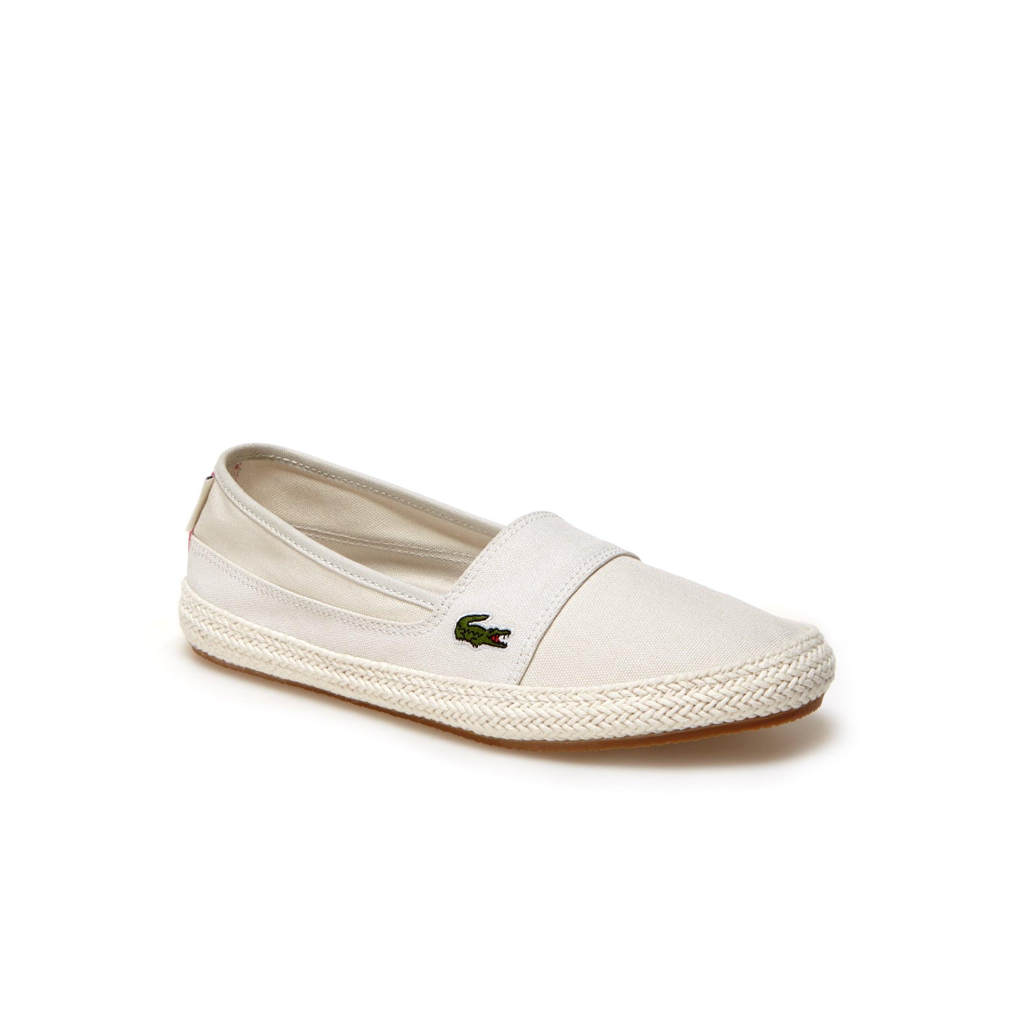 Zapatillas sin cordones de mujer Marice de loneta