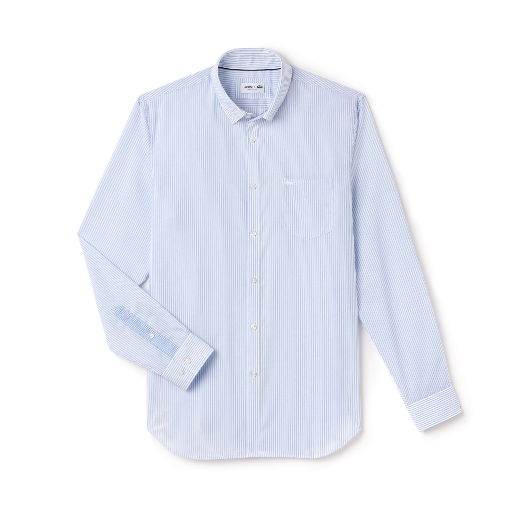 Camisa Popelín De Rayas