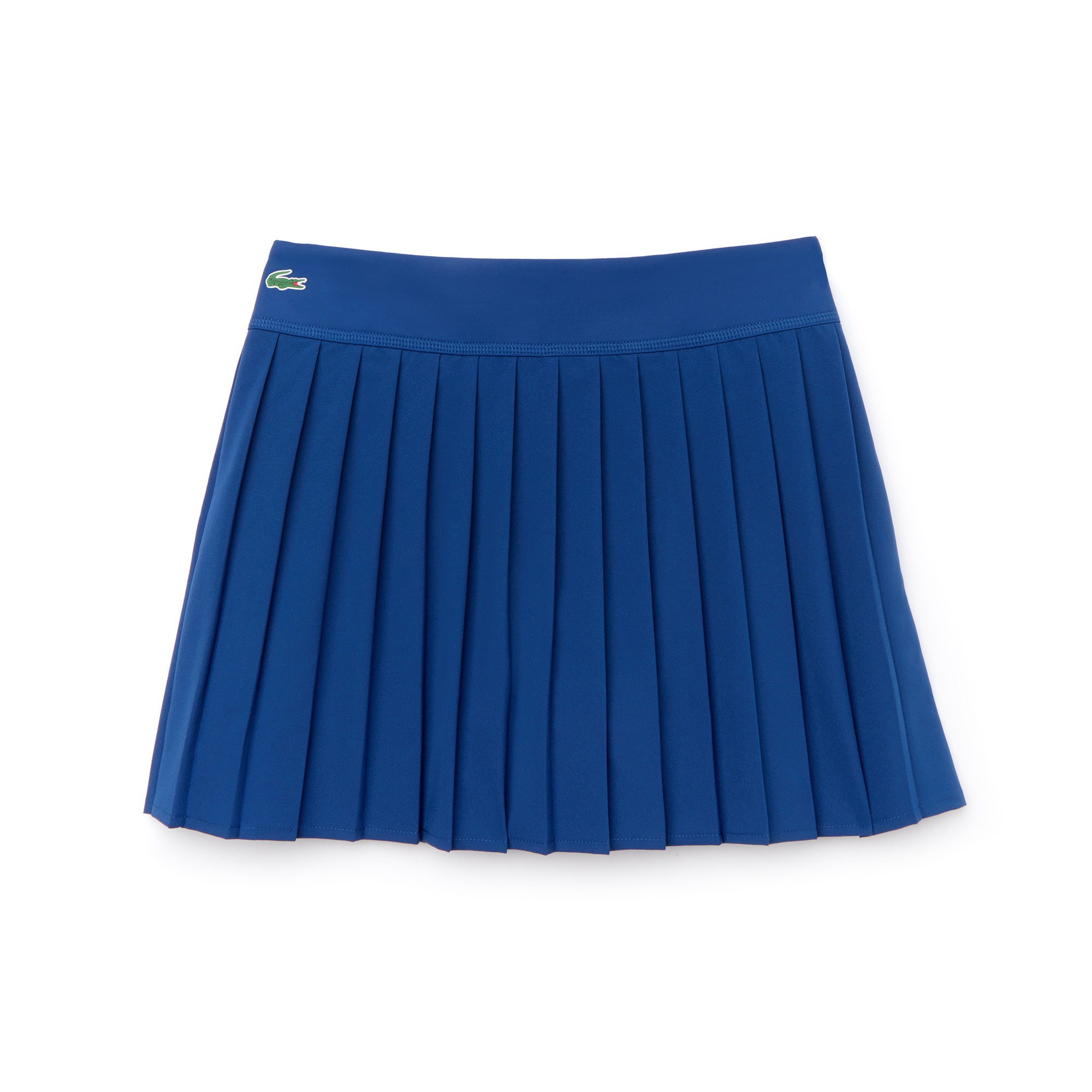 Falda plisada de mujer de malla técnica Lacoste SPORT Tennis