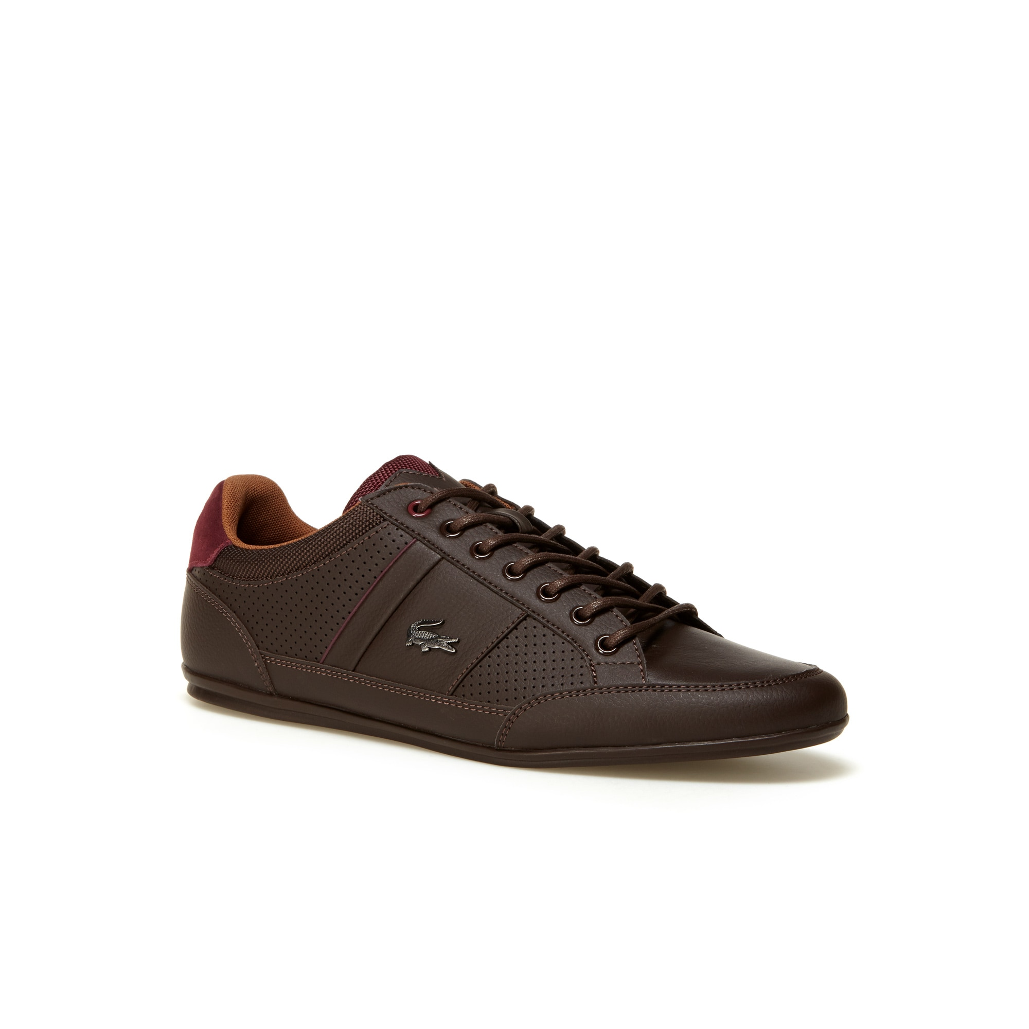 Men's Chaymon Punched Leather Trainers